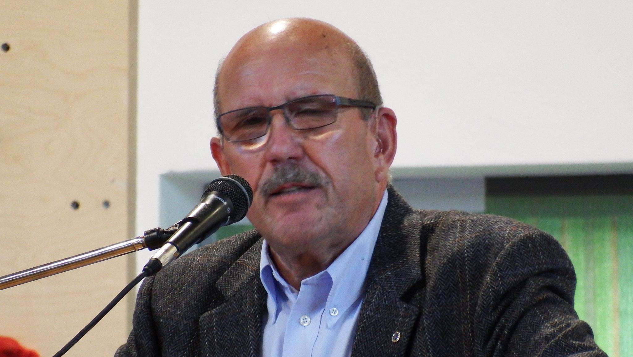 Bezirksvorsitzender Unterfranken Werner Hahn