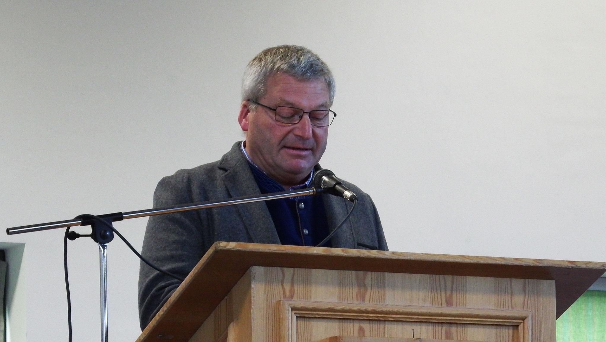Bürgermeister Georg Menninger