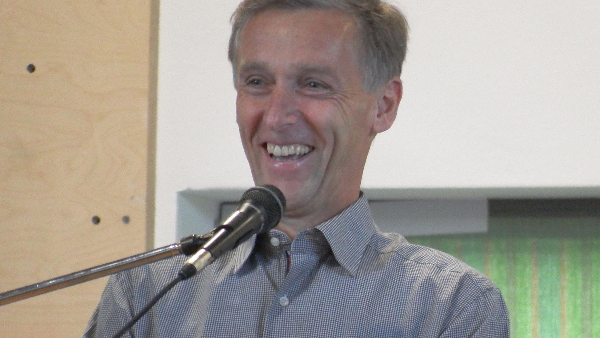 Vorsitzender TSV Hollstadt Dietmar Werner