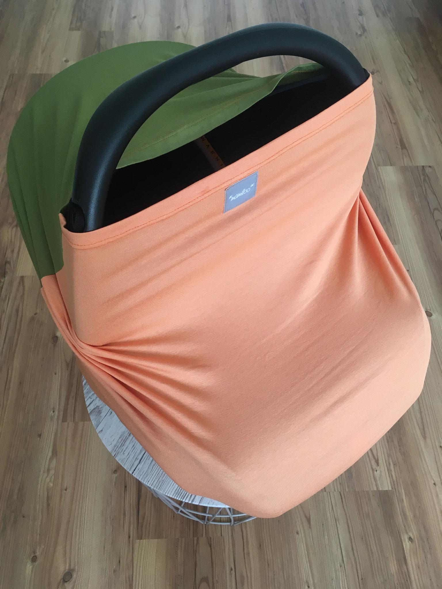 Sonderwunsch - zweifarbig / orange und grün