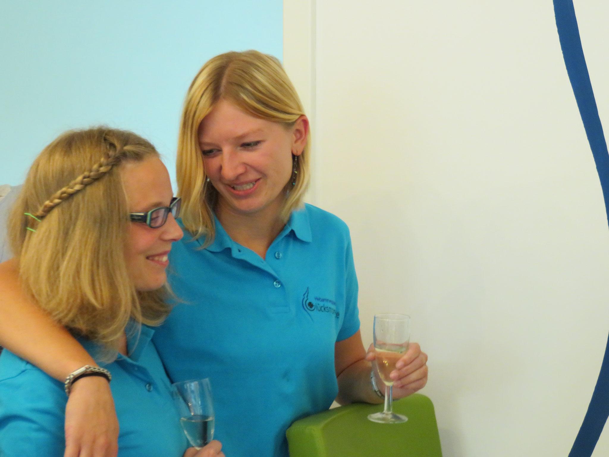 Anna-Lena und Irmi - Teil unseres Hebammenteams