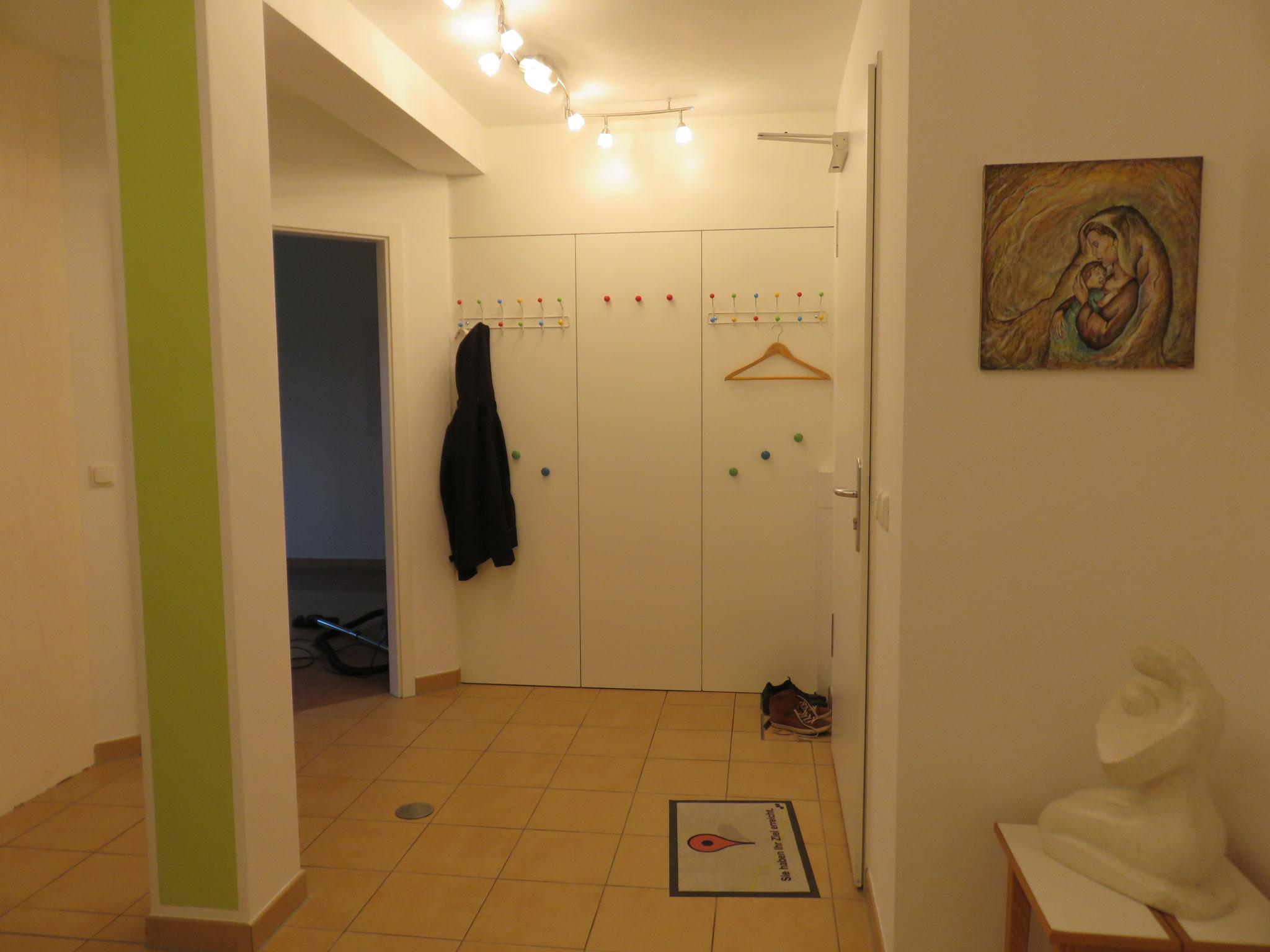 Eingangsbereich & Garderobe