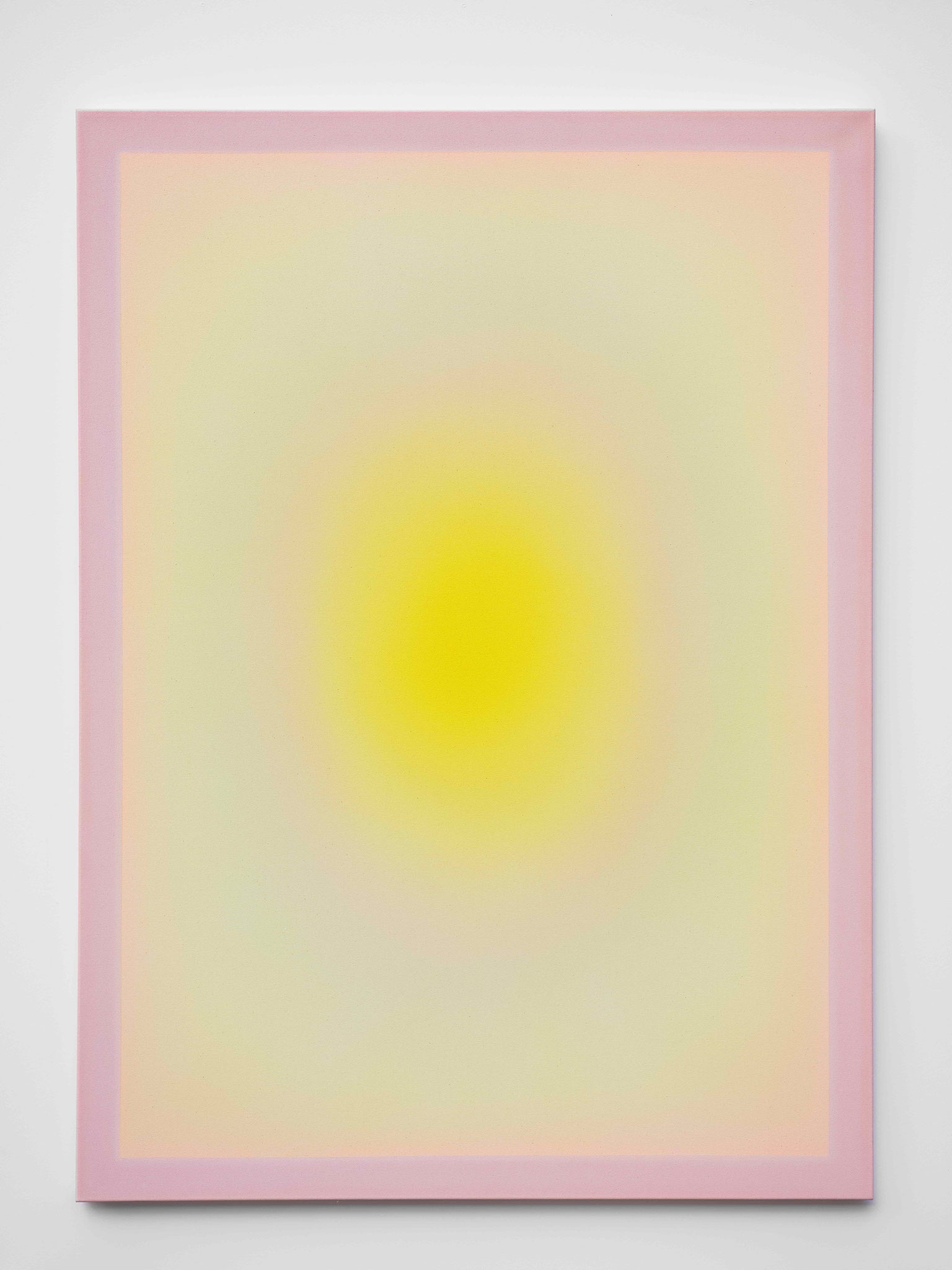 "Alina Birkner ""Untitled (Citrinitas)"" 2019, 180x130 cm, Acrylic on Canvas"