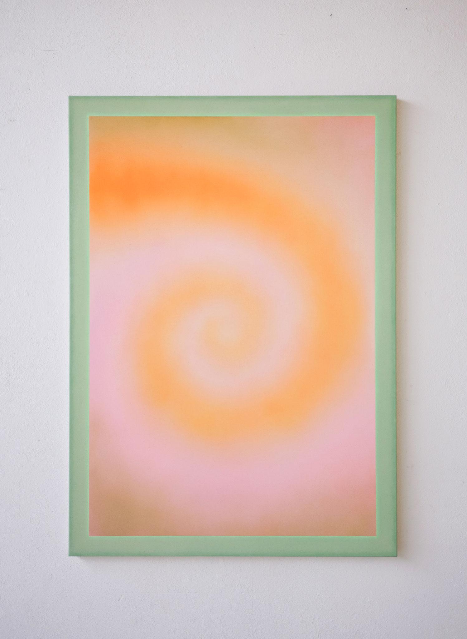 "Alina Birkner ""Untitled (Vitamins) 2019, 170x120 cm, Acrylic on Canvas"