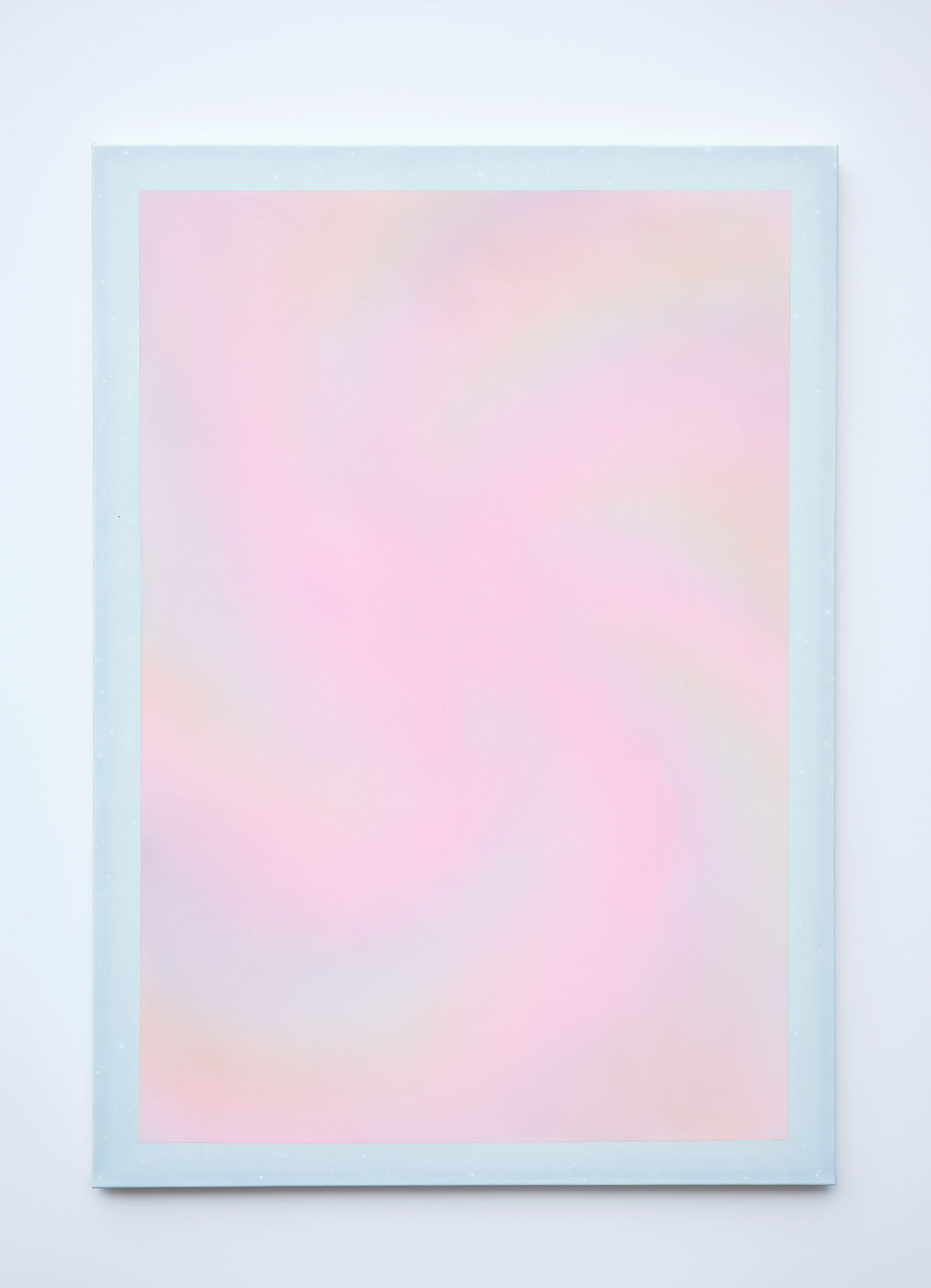 "Alina Birkner ""Untitled (Silver Crystal Power)"" 2018, 170x120 cm, Acrylic on Canvas"