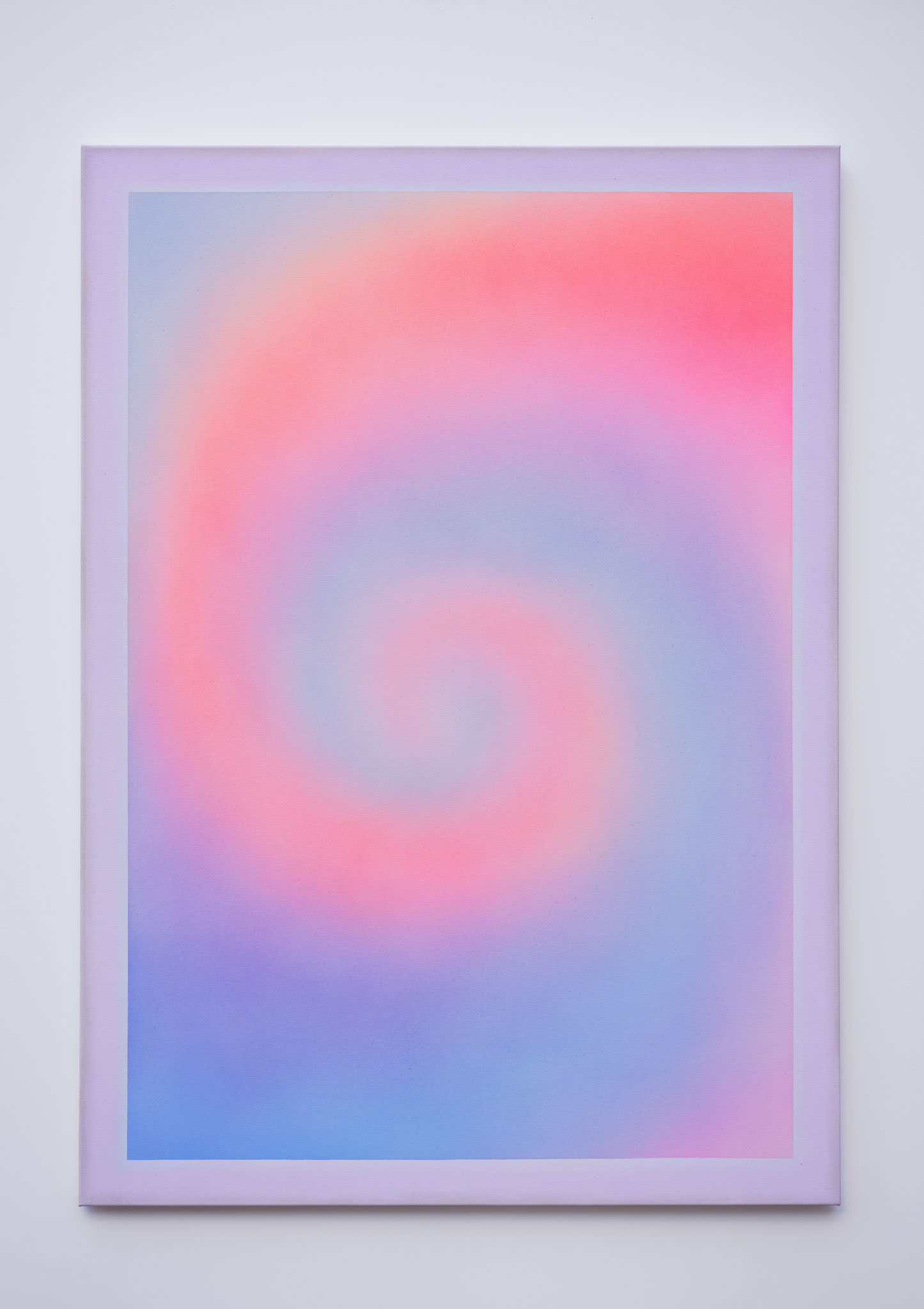 "Alina Birkner ""Untitled (We meet again)"" 2018, 170x120 cm, Acrylic on Canvas"