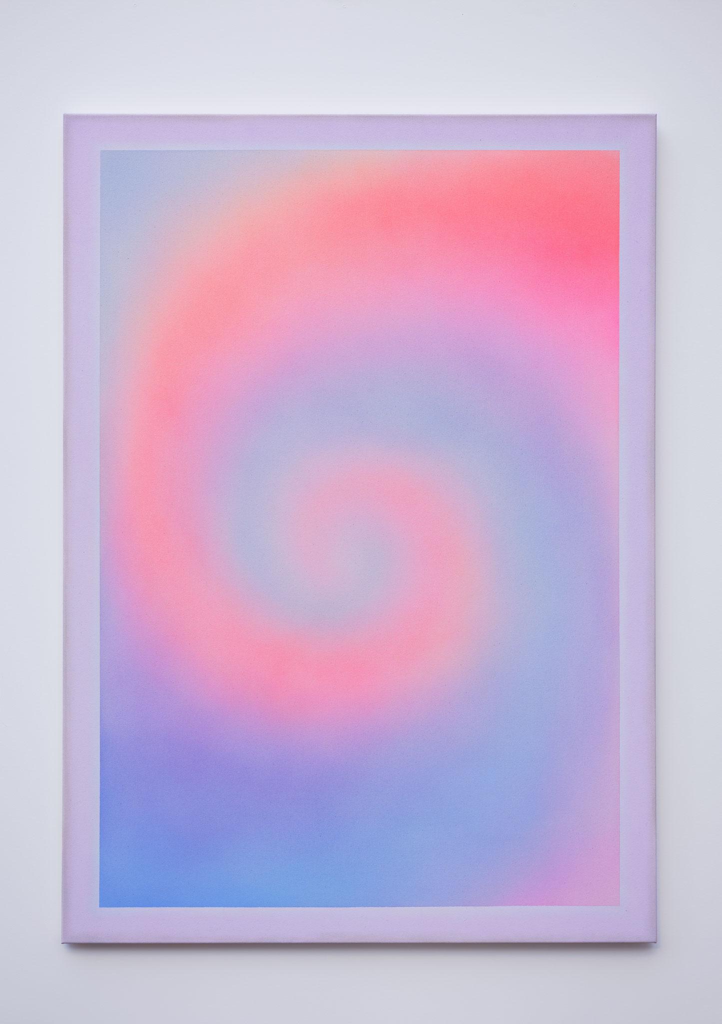 "Alina Birkner ""Untitled (We meet again)"" 2018, 170x120 cm, Acrylic on Canvas"