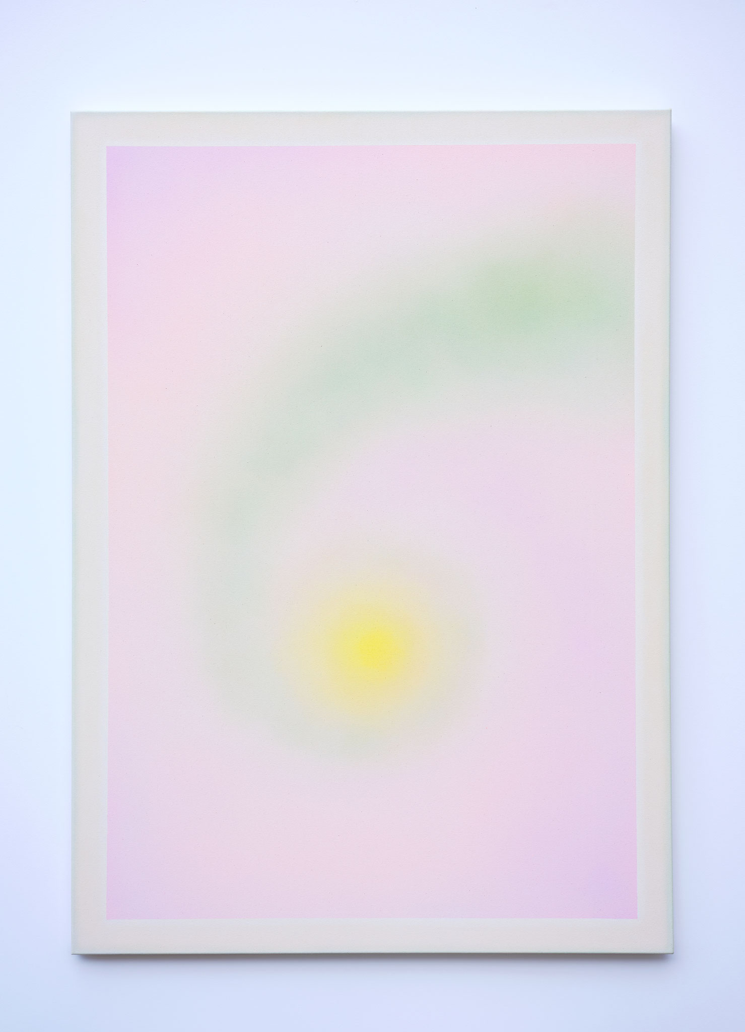 "Alina Birkner ""Untitled (Singing myself into being)"" 2019, 170x120 cm, Acrylic on Canvas"