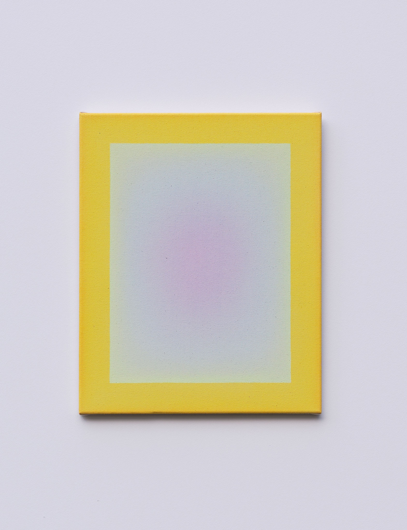 "Alina Birkner ""Untitled (Essence of Violet)"" 2019, 40x50 cm, Acrylic on Canvas"
