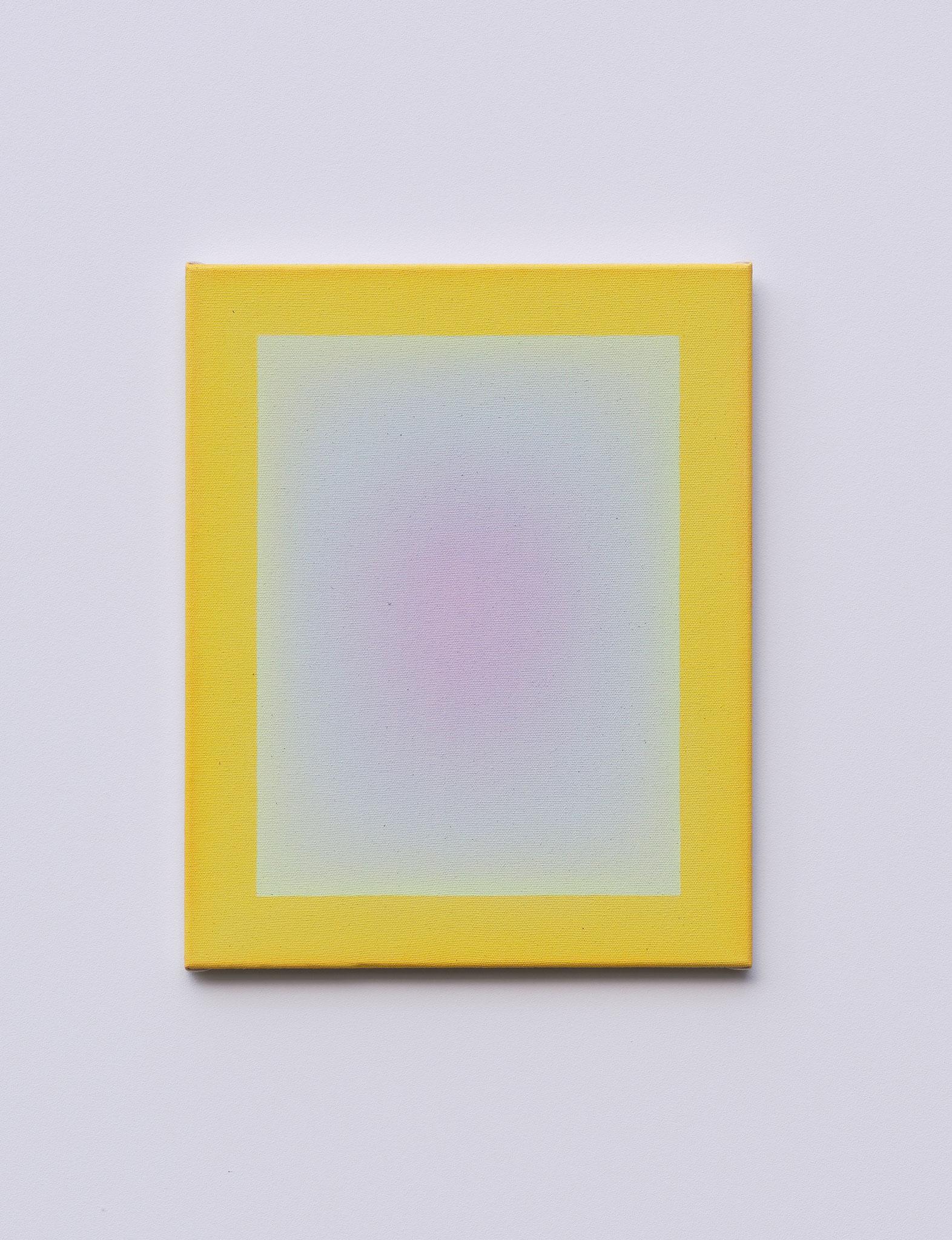 "Alina Birkner ""Untitled (Essence of Violet)"" 2019, 40x50 cm, Acrylic on Canvas"