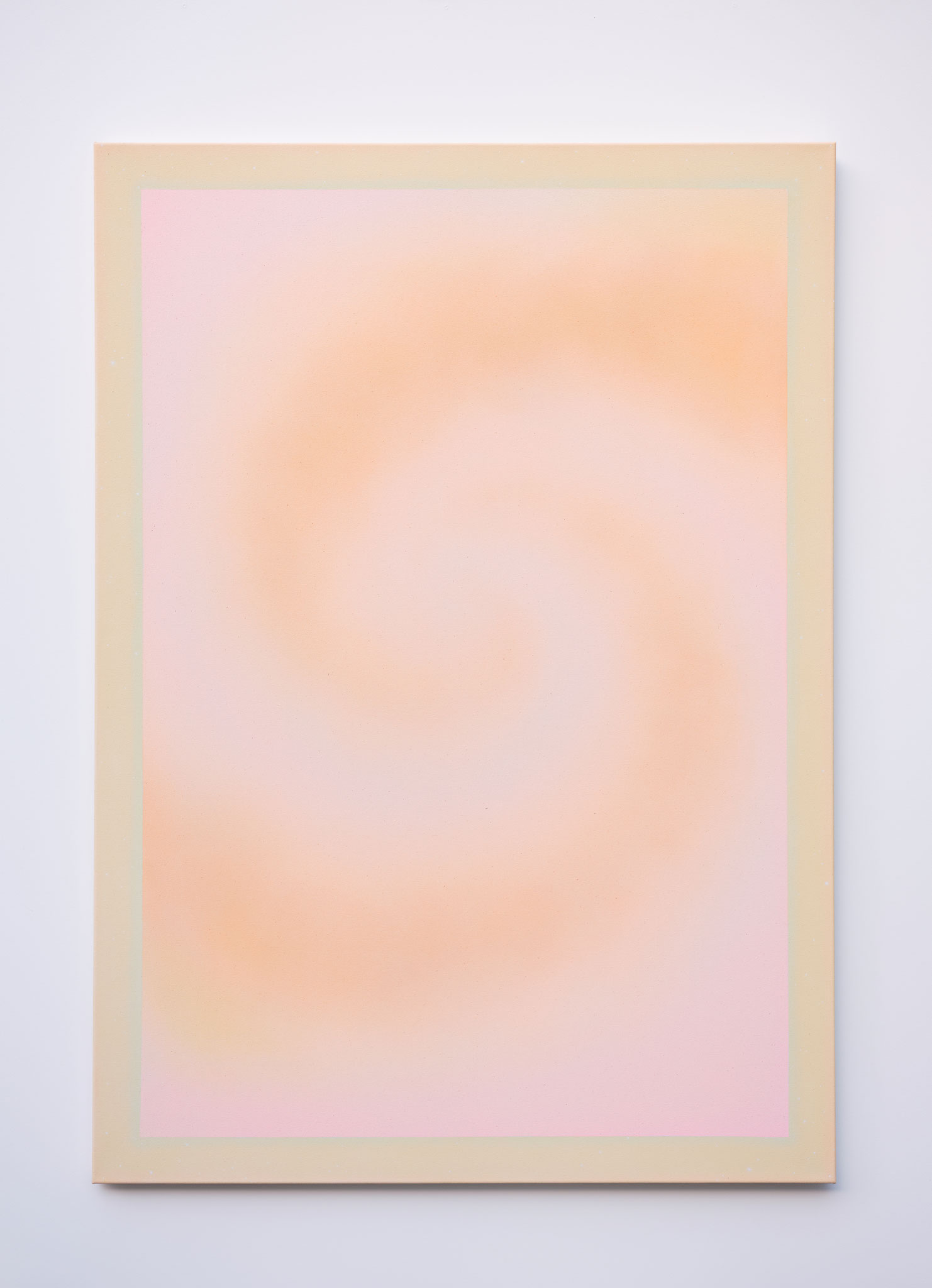 "Alina Birkner ""Untitled (Soft Creation)"" 2018, 170x120 cm, Acrylic on Canvas"