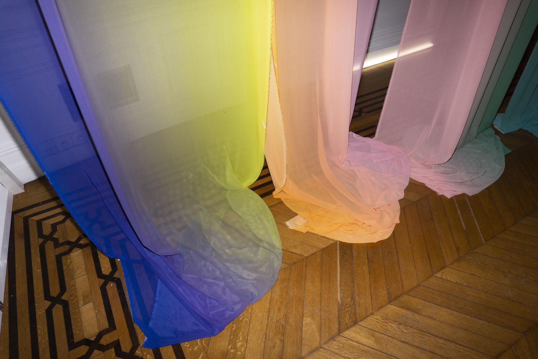 "Alina Birkner ""Untitled"" 2018 Detail Installation Showroom Each Other"