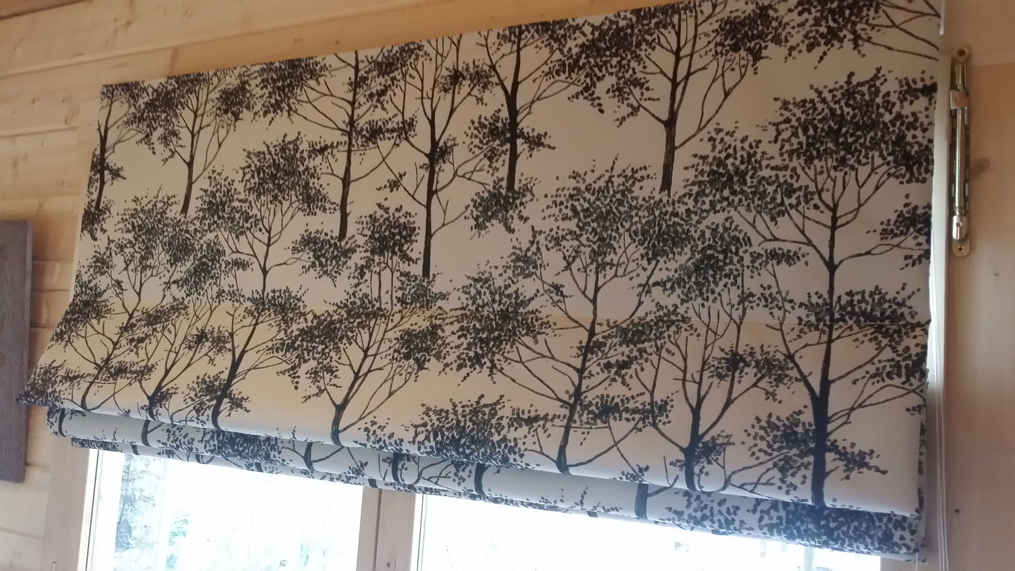 Laura Ashley Silver Birch charcoal colourway