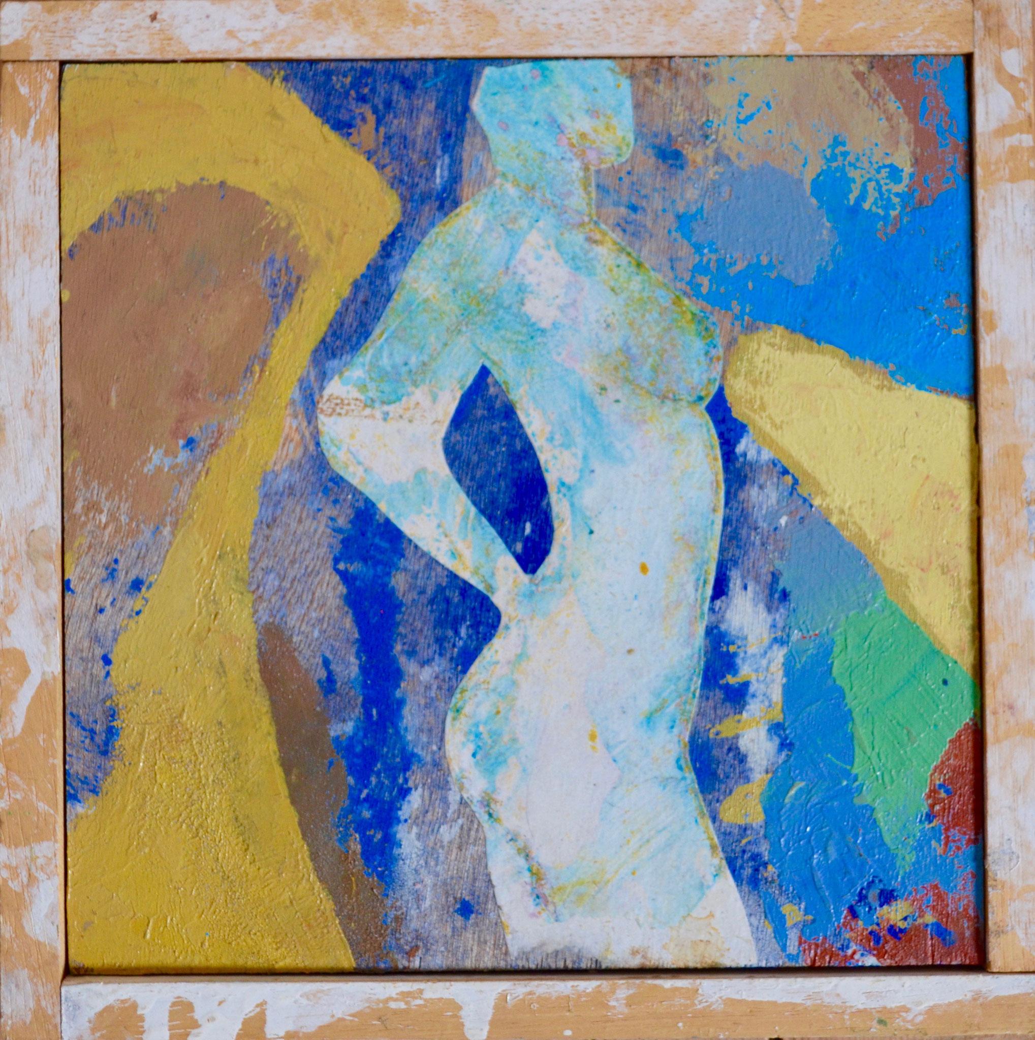 N22- bois/plywood - 20 x 20 cm