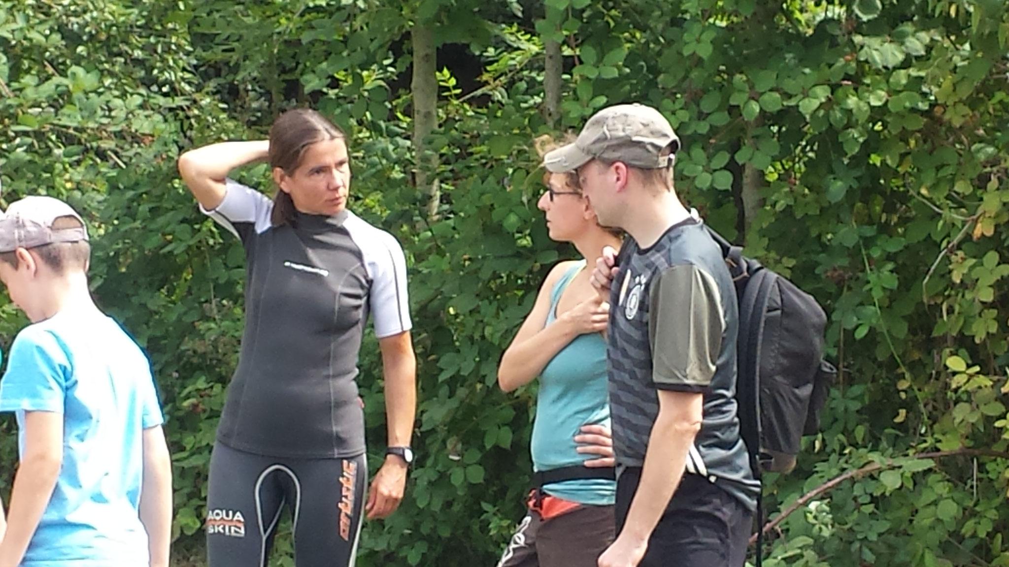 """Unsere Guides und ihr """"Vesper""""......"""