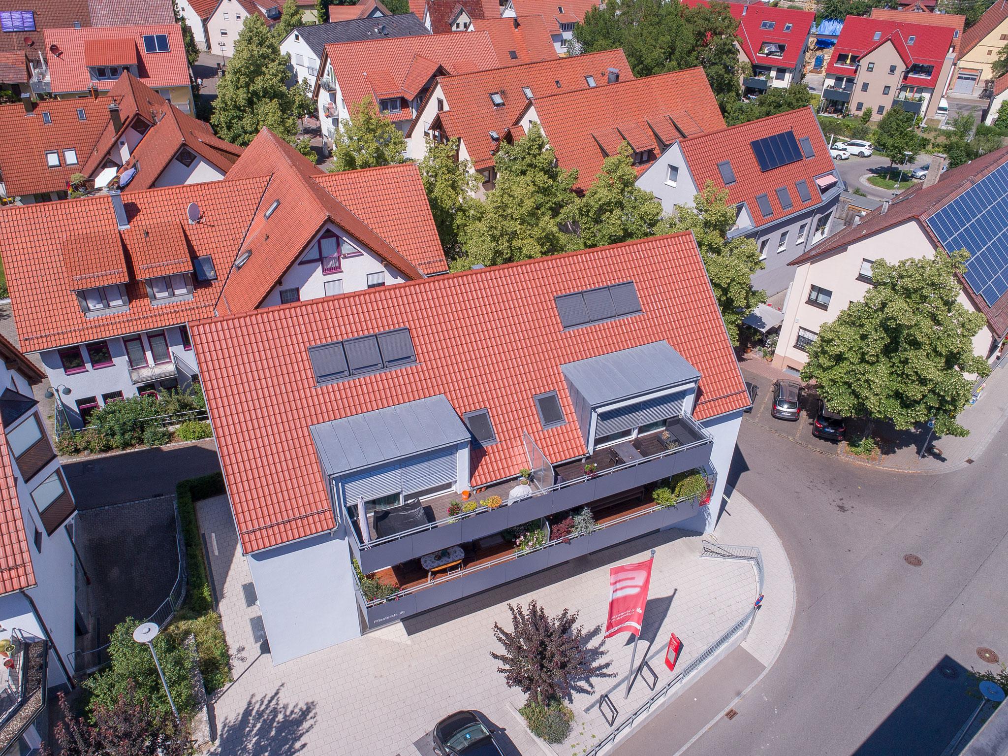 Wohn-und Geschäftsgebäude mit Tiefgarage Rohbauarbeiten