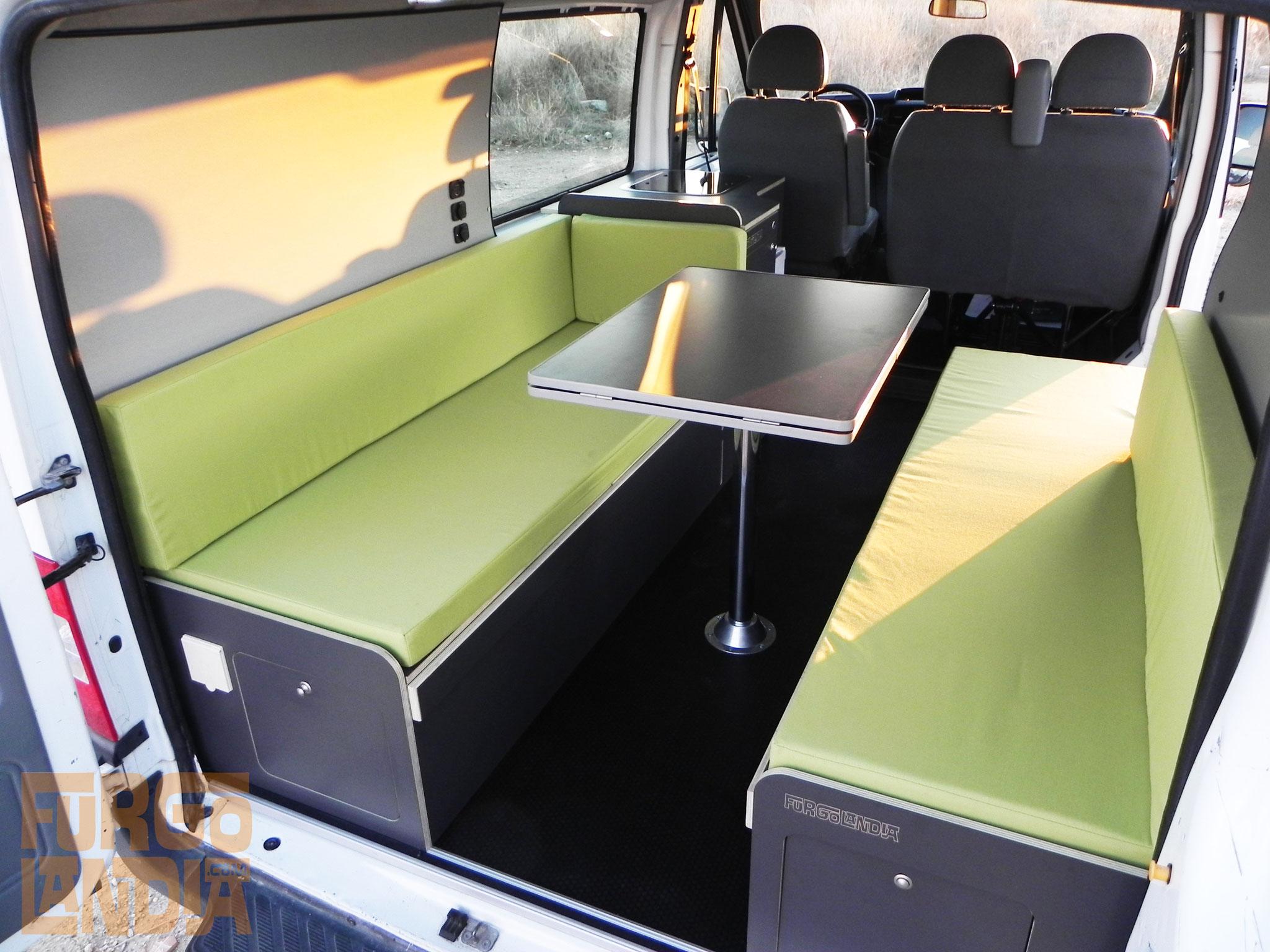 Camperización Ford Transit