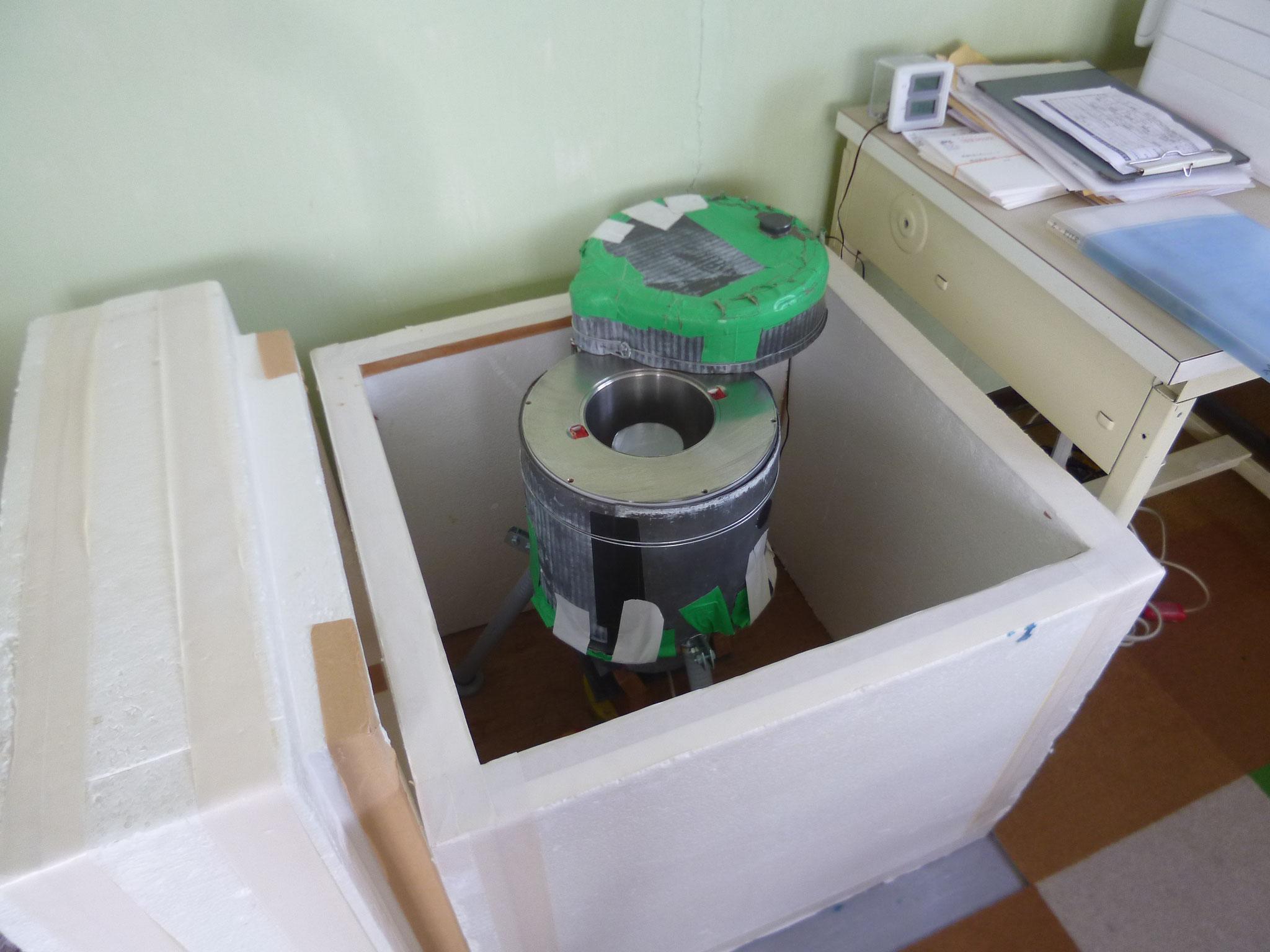 食品の放射線量測定器