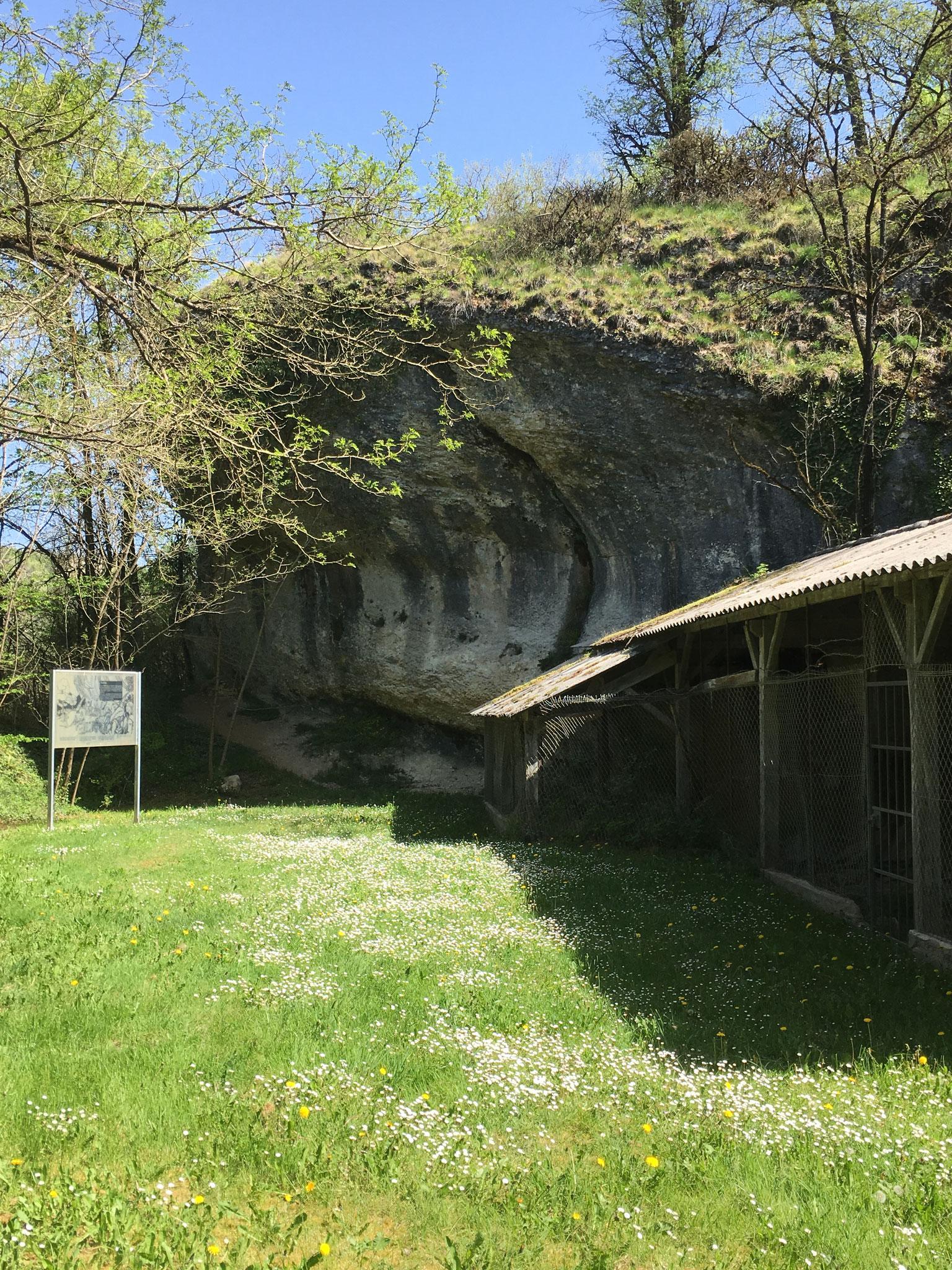 Site du Martinet - Site éponyme du Sauveterrien