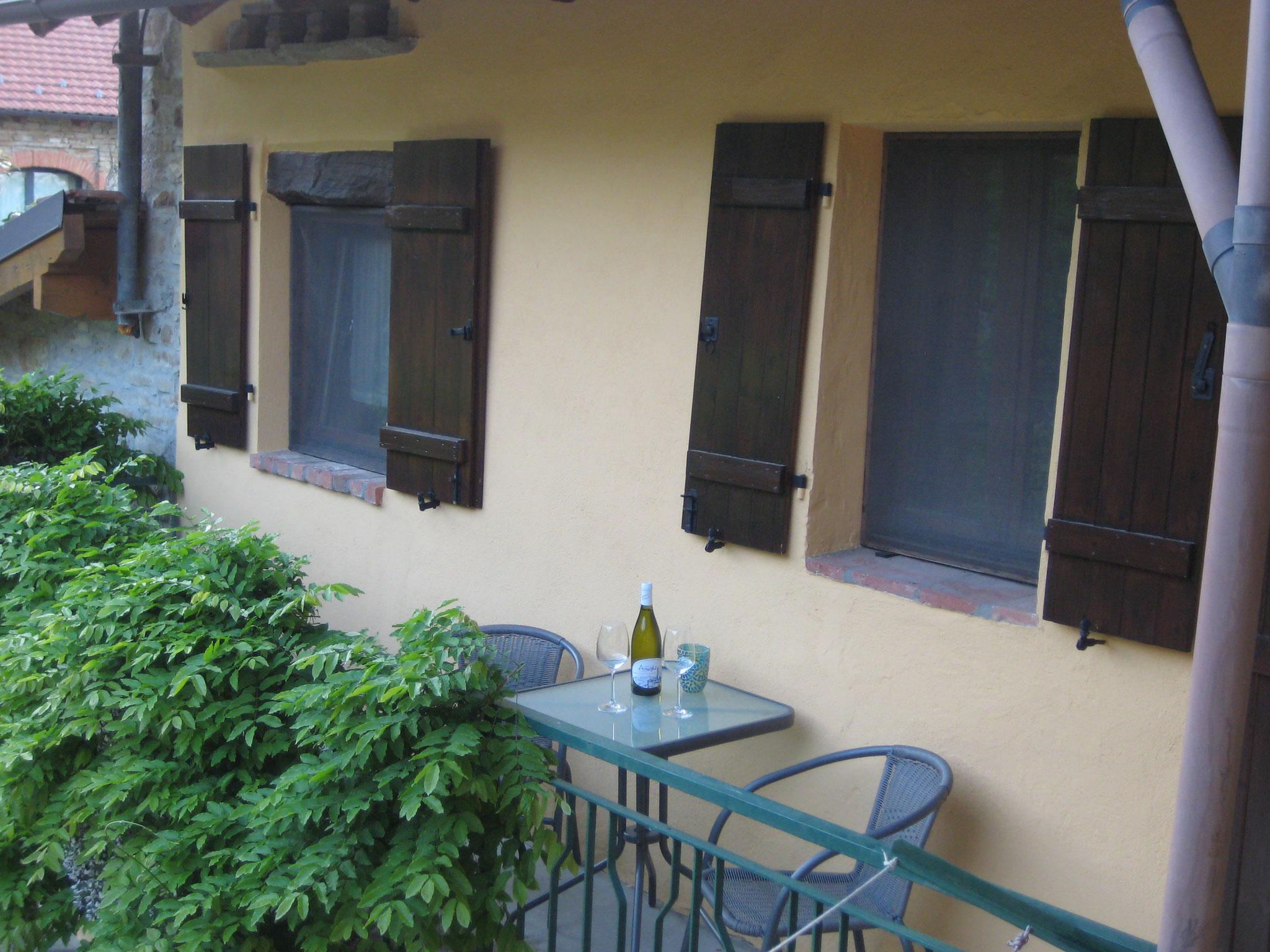 Balkon - 2. Schlafzimmer