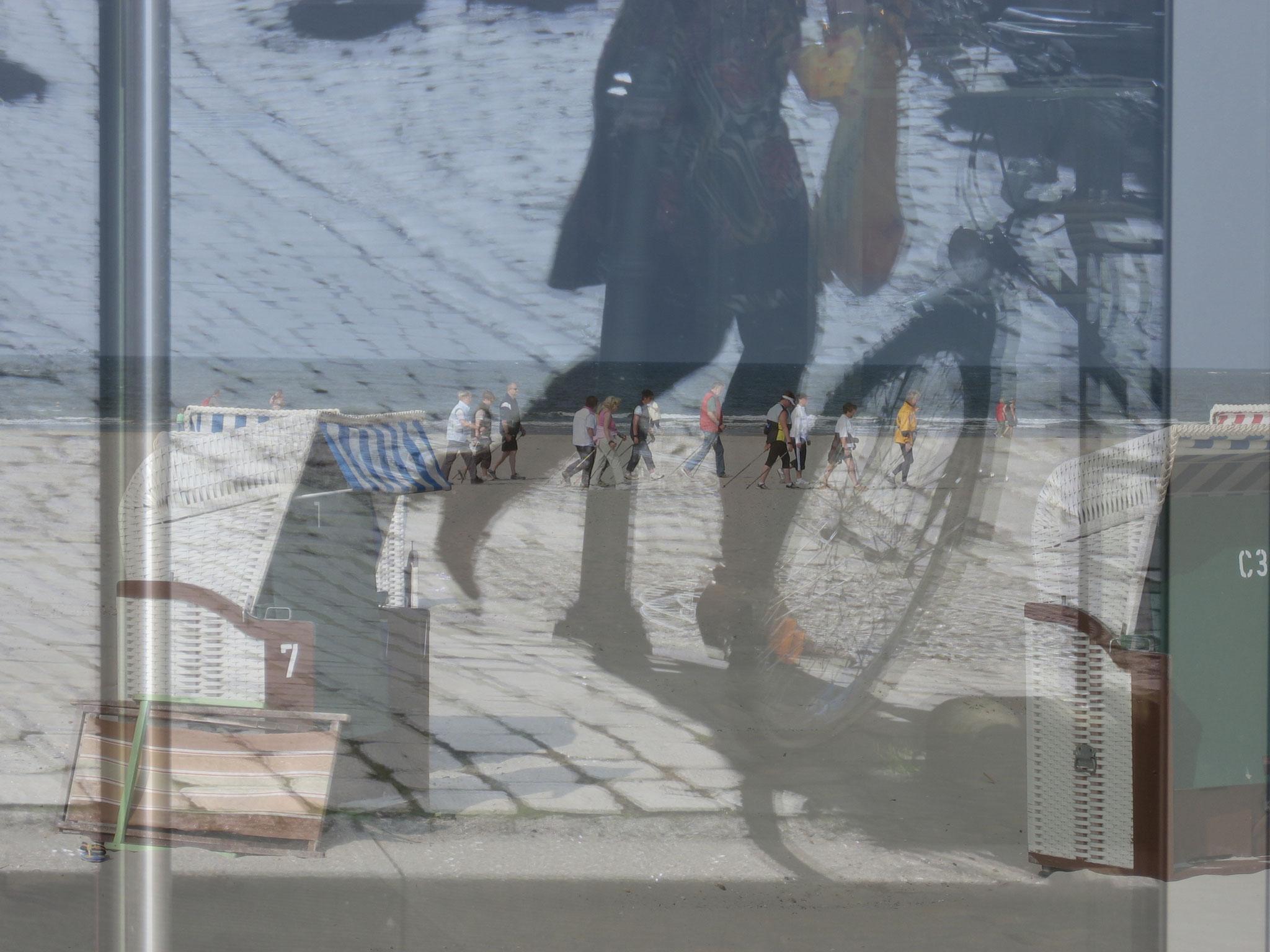 """Been there"", digital geschichtete Fotografie, Ausstellung ""Fundamental Ephemeris"""""