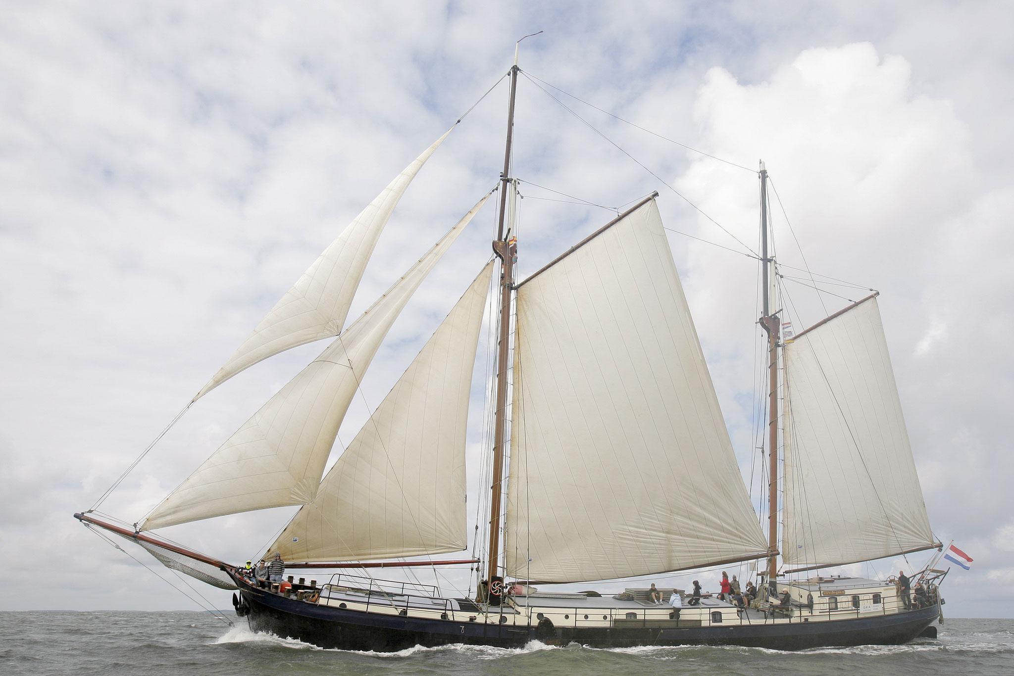 Segelschiff Gaia