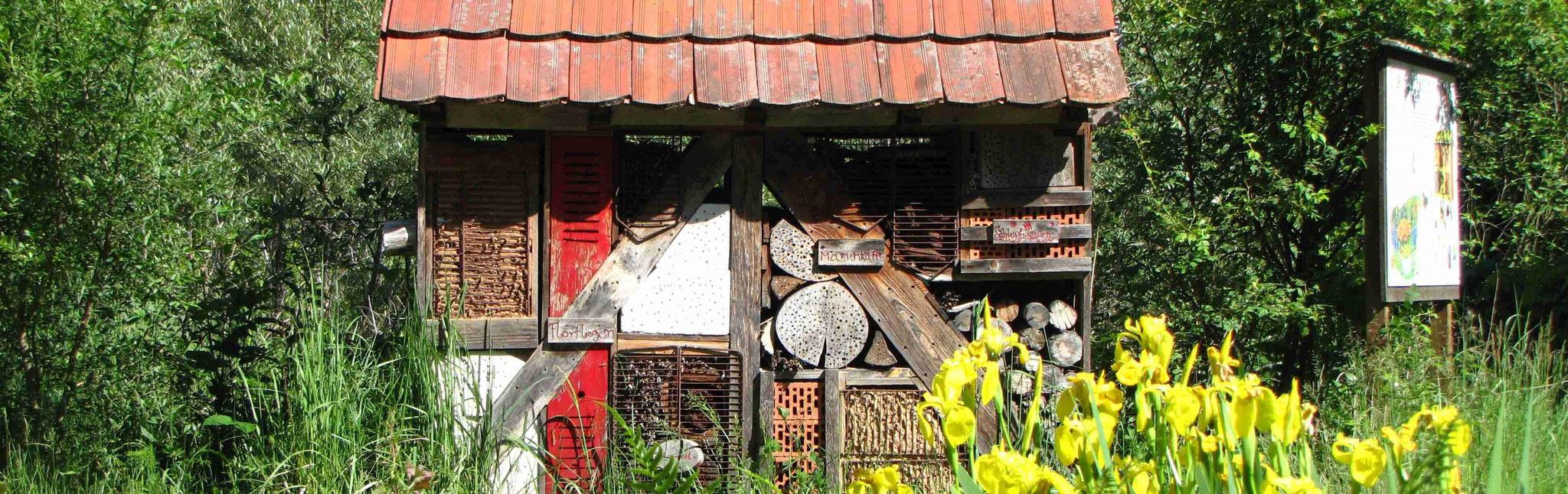 Das Insektenhotel, Nisthilfe für Wildbienen