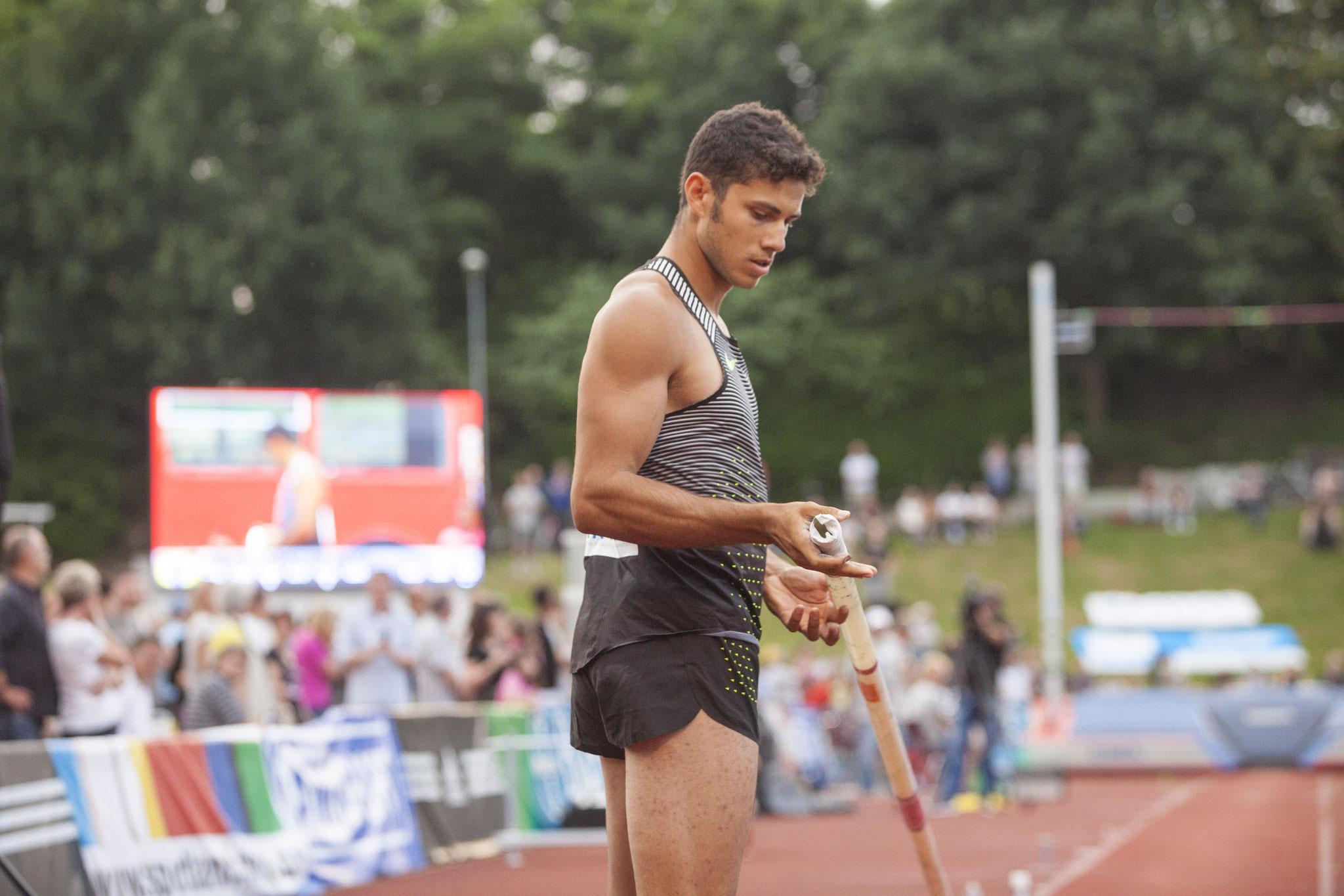 Olympiasieger Thiago Braz da Silva