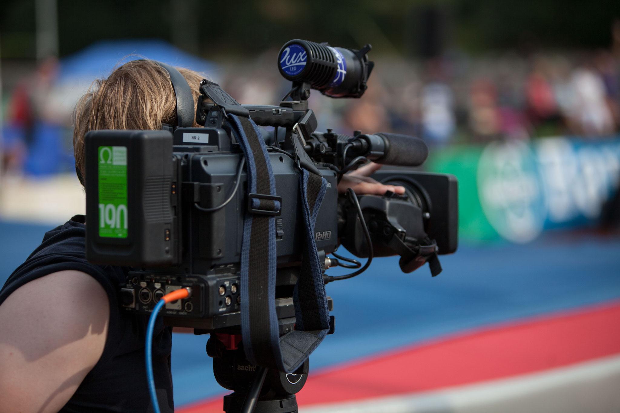 Produktion professioneller TV- und Livestream-Bilder