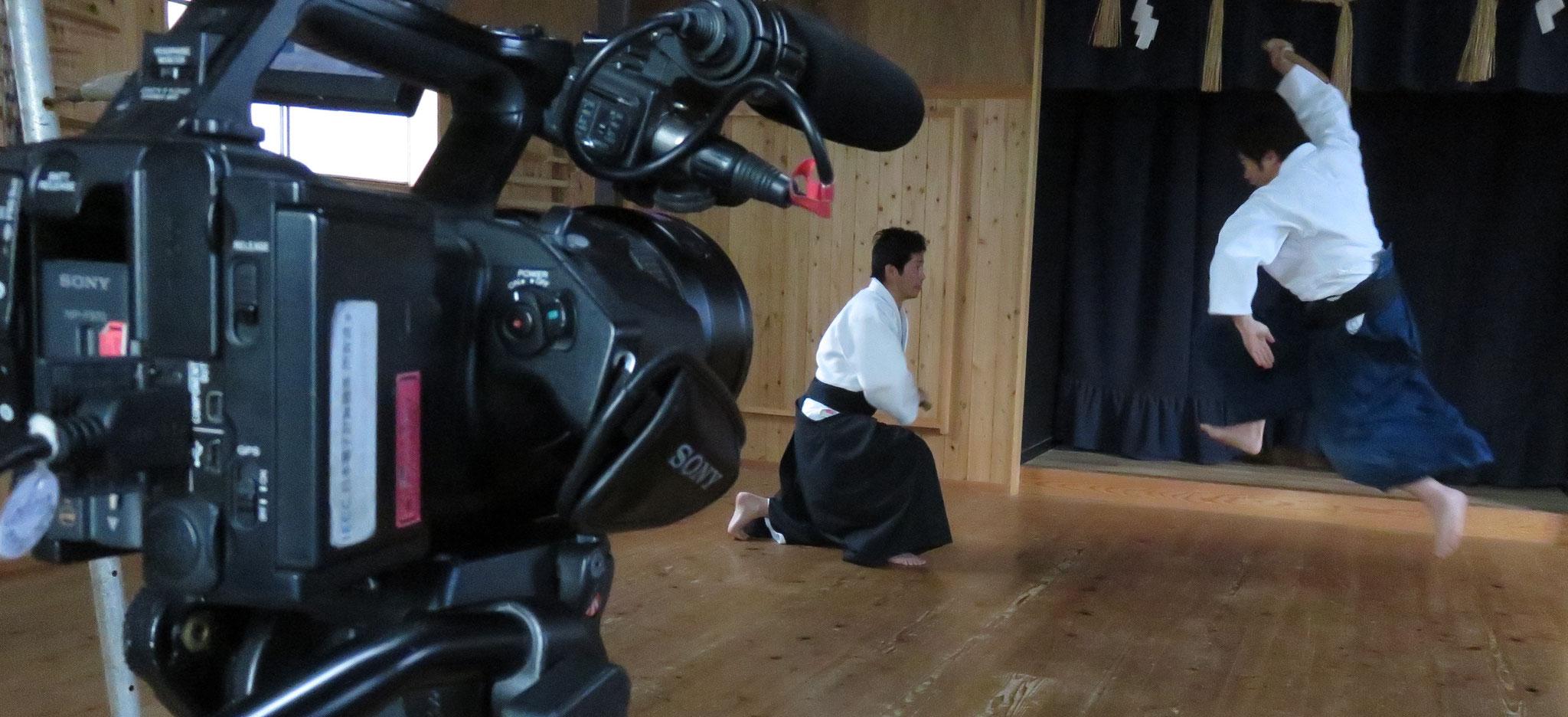 NHK BS 取材