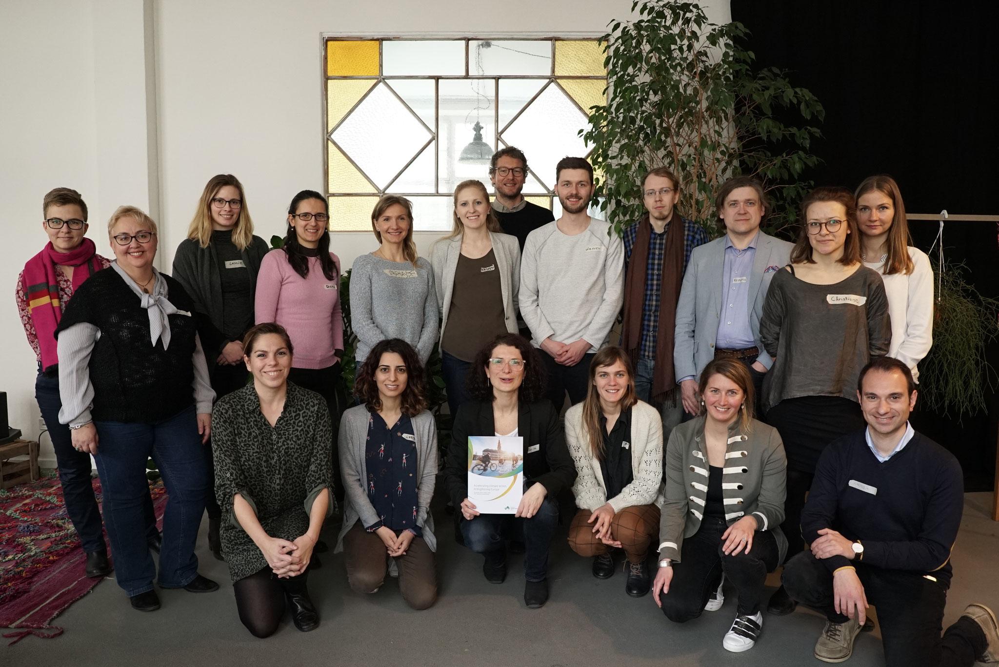 Angegliedert an die zweite EUKI Jahreskonferenz im März 2019 bot die GIZ im Rahmen der EUKI Academy ein PR-Training für die erfolgreiche Kommunikation der EUKI-Projekte.