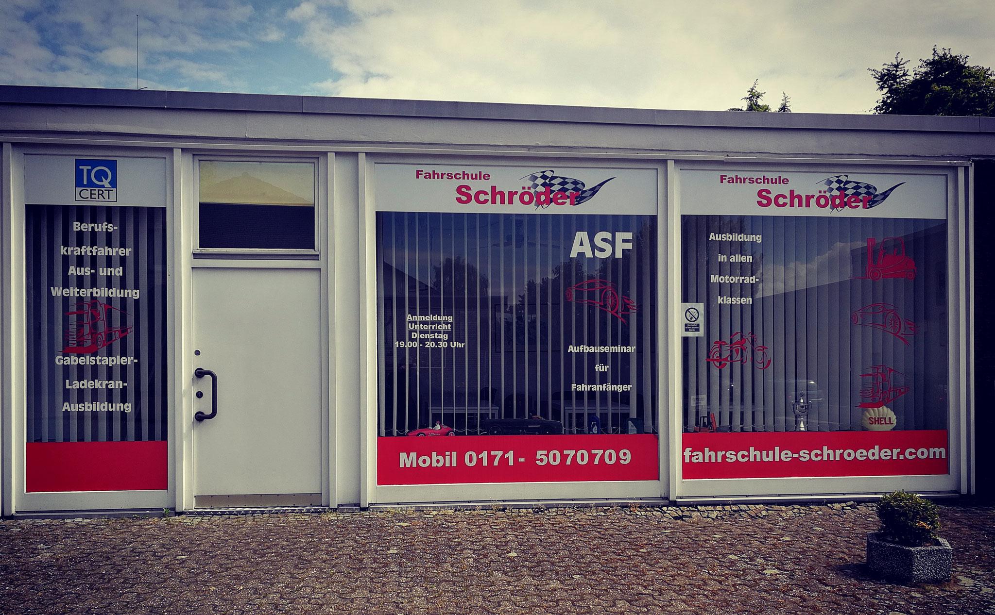 Unsere Fahrschule in Bünde. Du findest uns aber auch in der Umgebung!