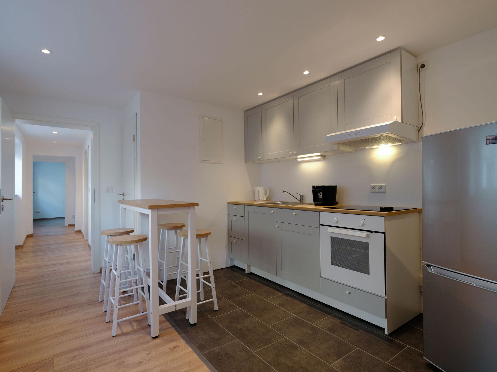 Küche Apartment 1 (EG)