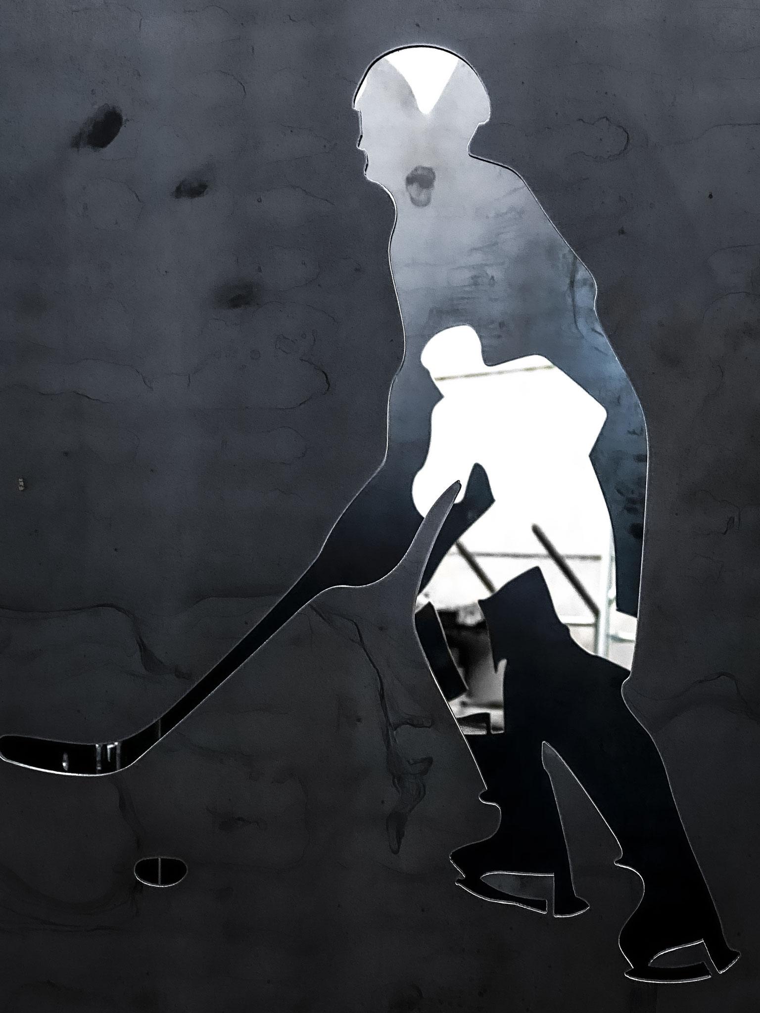 Feuertonne Eishockey