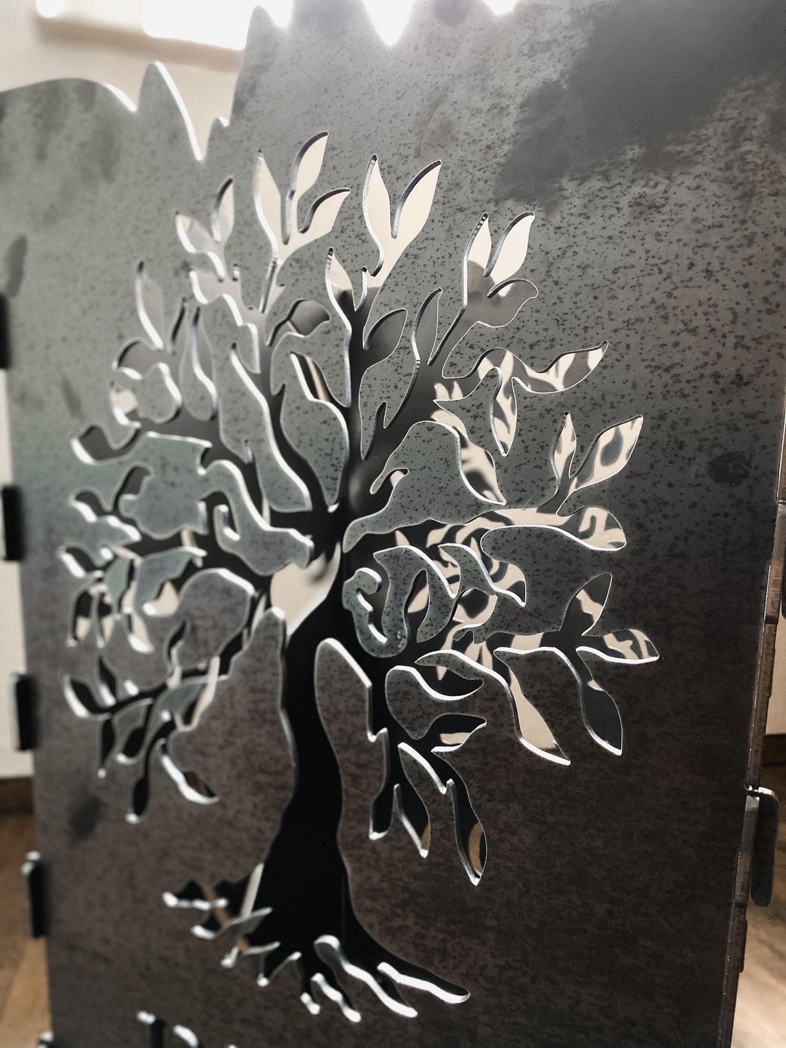 Feuerkorb Baum