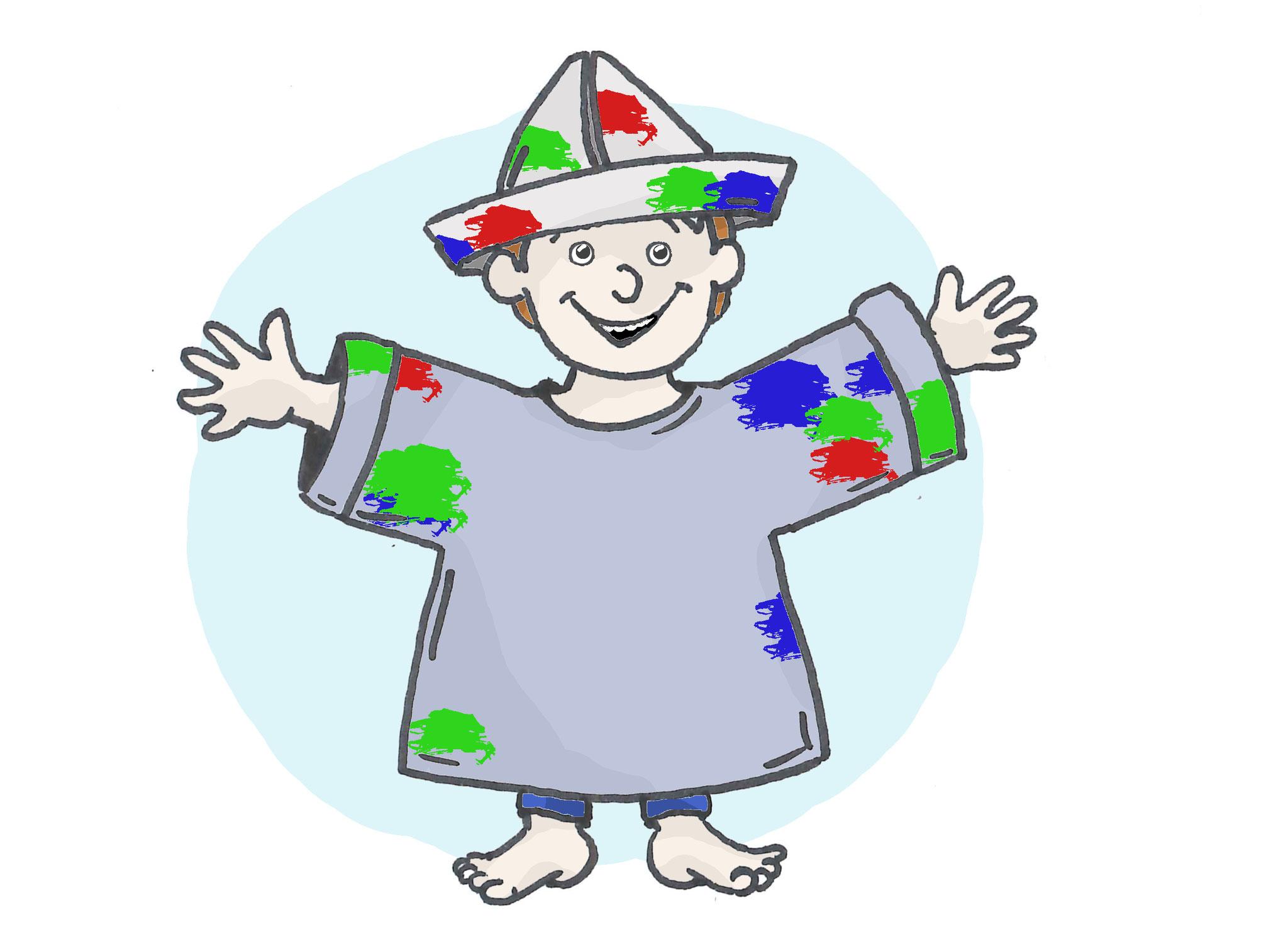 8. Kostüme basteln: Der schönste Hut lässt sich aus altem Geschenk- oder Zeitungspapier basteln, und vielleicht kommt ja sogar ein ganzes Kostüm dabei heraus? Diese können im Rahmen einer Zirkusvorstellung präsentiert werden.