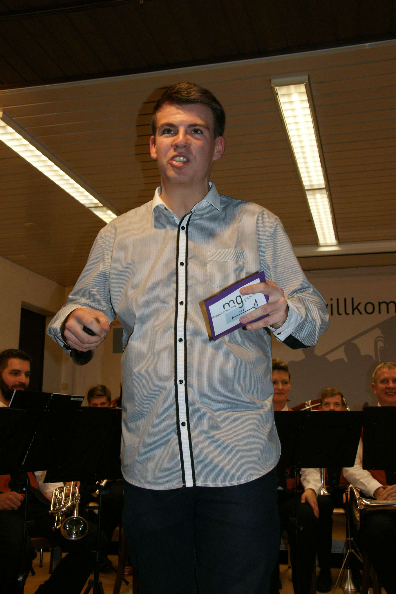 Konzertansage MG Doppleschwand, 2016