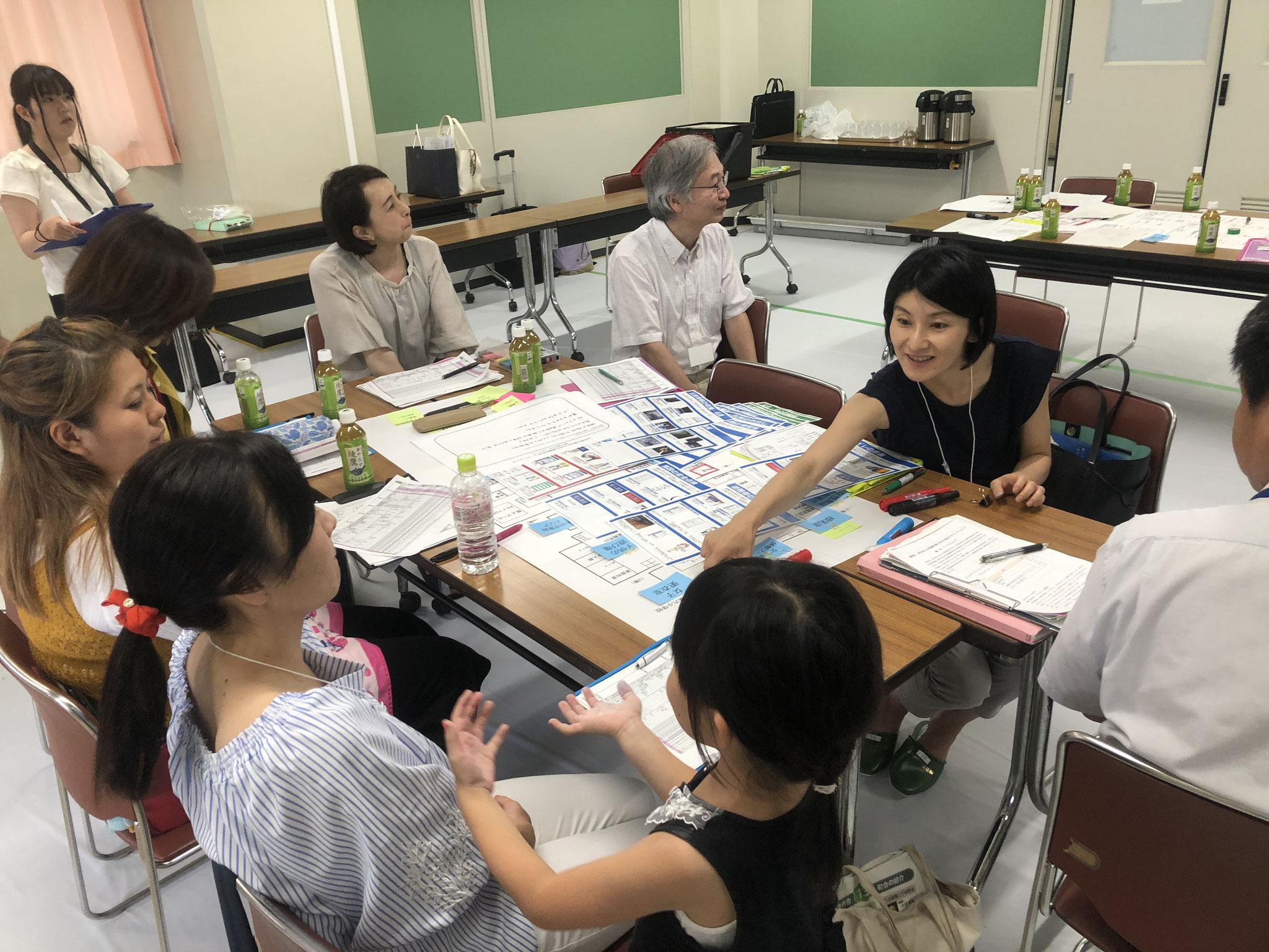 新宿区女性をはじめ配慮を要する方の視点でのワークショップ