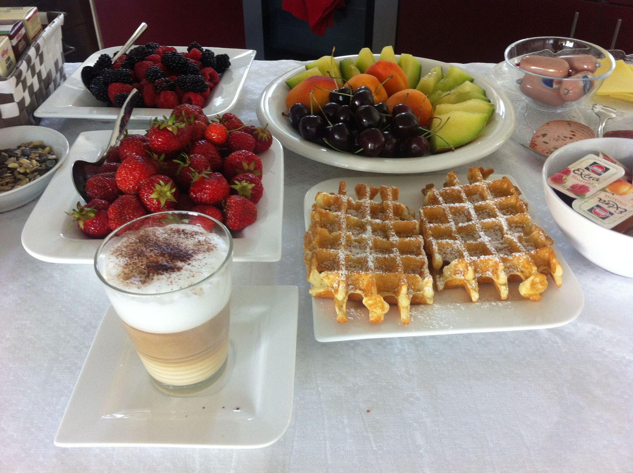 Gemeinsames Frühstück