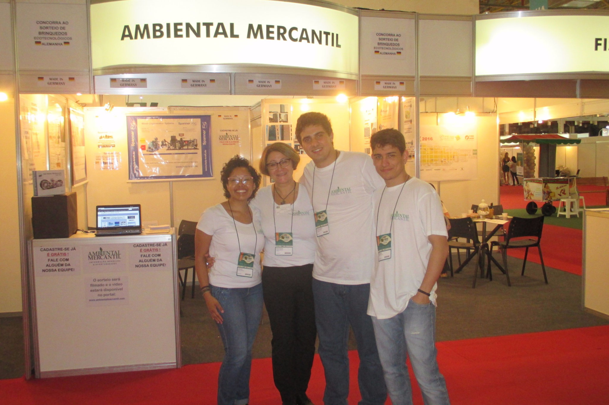 Exhibiting at FIMAI ECOMONDO in Sao Paulo, Brazil! With our top team at FIMAI!!!