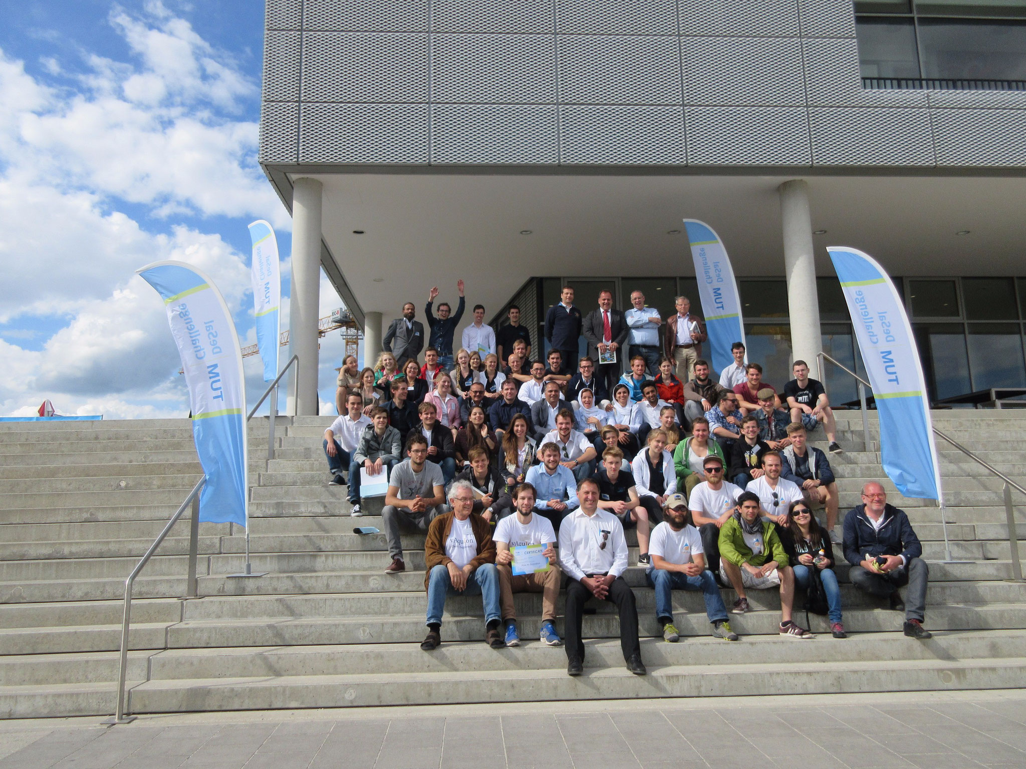 TUM DeSal Challenge 2016, the competition on renewable seawater desalination of Technische Universität München