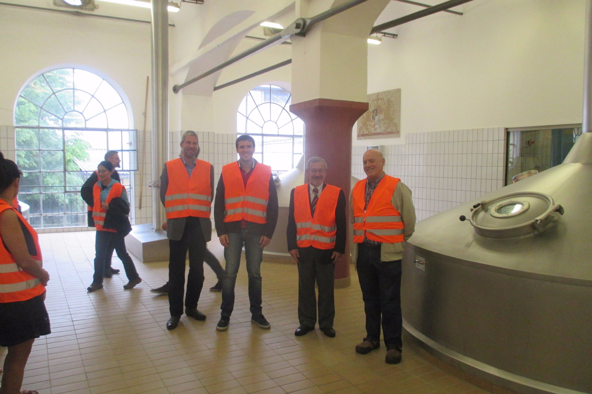 Brewery Tour with the Brazilian delegation at Weihenstephan: almost a thousand years ago the Bavarian State Brewery