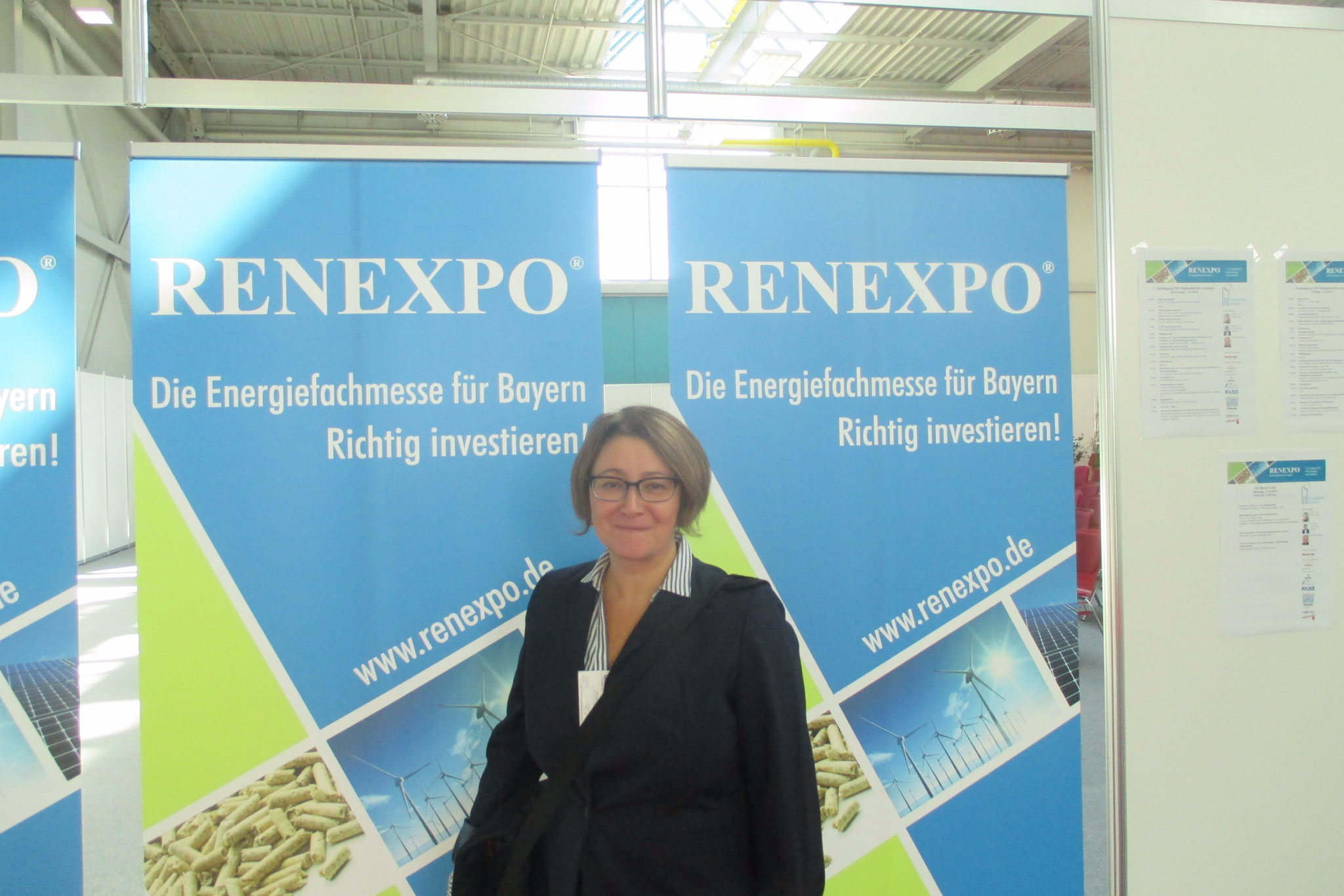 Visiting RENEXPO 2015 in Augsburg!