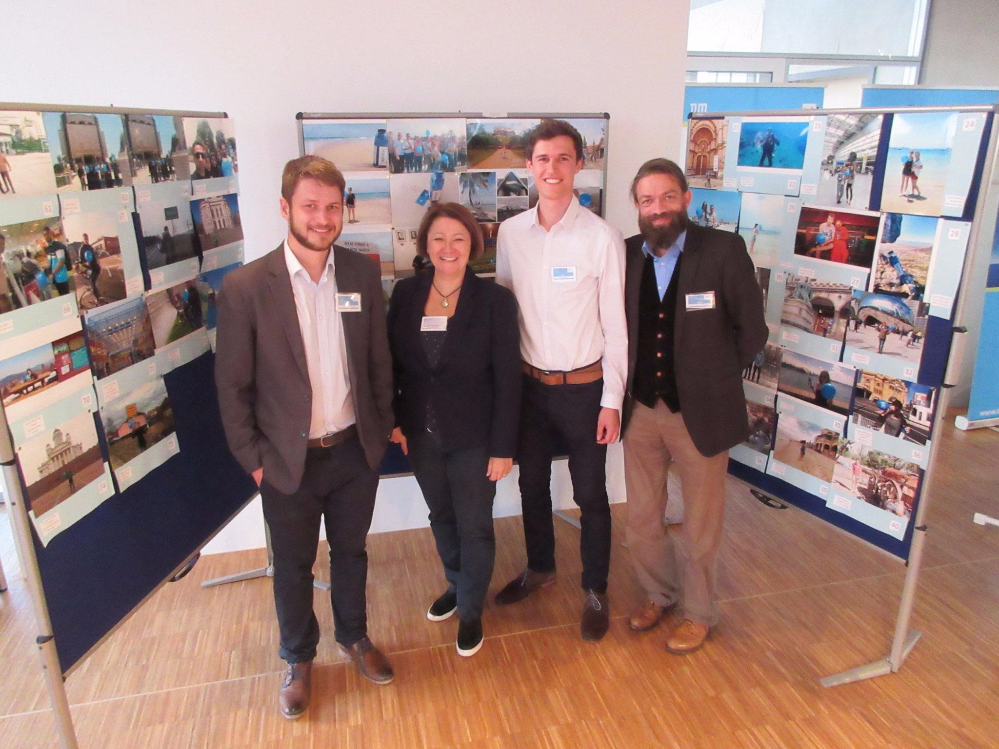 TUM DeSal Challenge 2016- Chair Thermodynamics with Dipl.-Ing. (Univ.) Alexander Kroiß, Simone Horvatin, (?), Dr.-Ing. Markus Spinnler