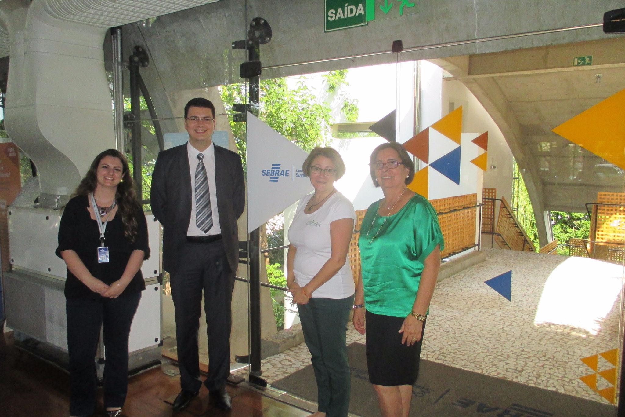 Visiting SEBRAE Sustentabilidade in 2015, Cuiaba MT, Brazil.