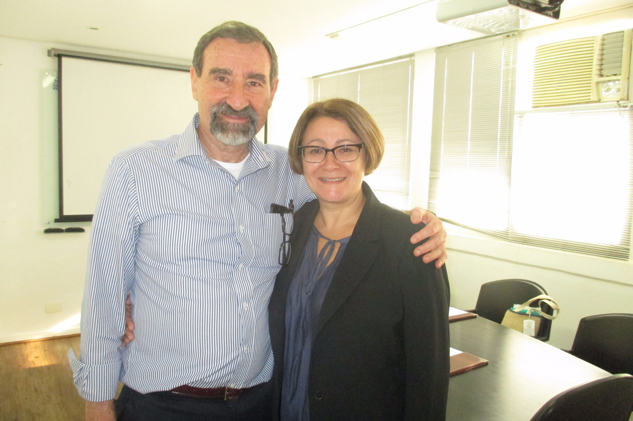 Visiting Manus Landmann in 2015, Sao Paulo, Brazil.