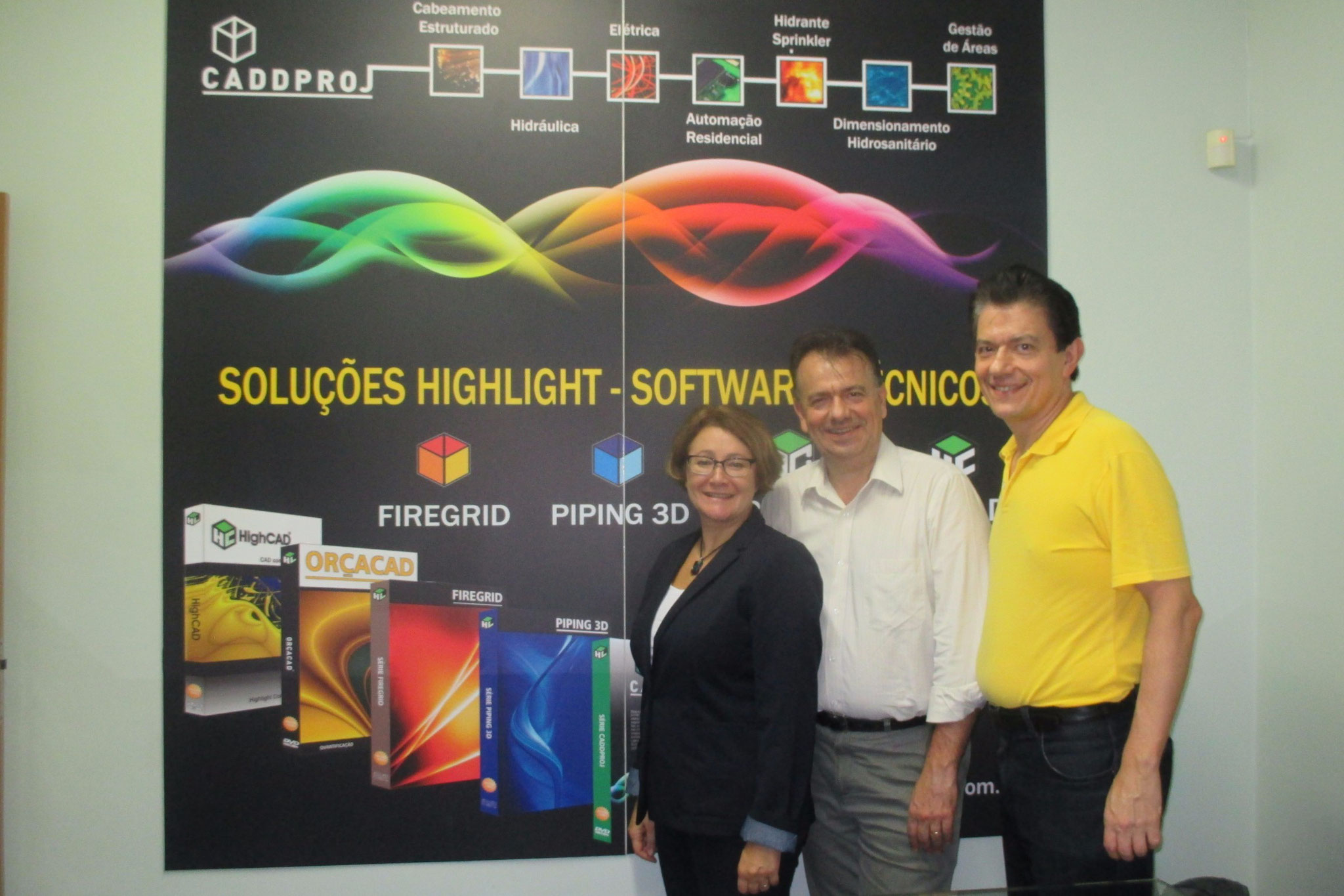 Visiting Highlight Computacao Grafica in 2015, Sao Paulo, Brazil.