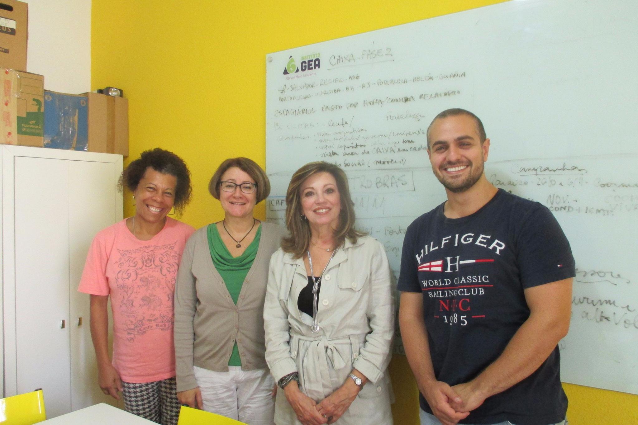 Visiting Instituto GEA - Ética e Meio Ambiente in 2015, Sao Paulo, Brazil.
