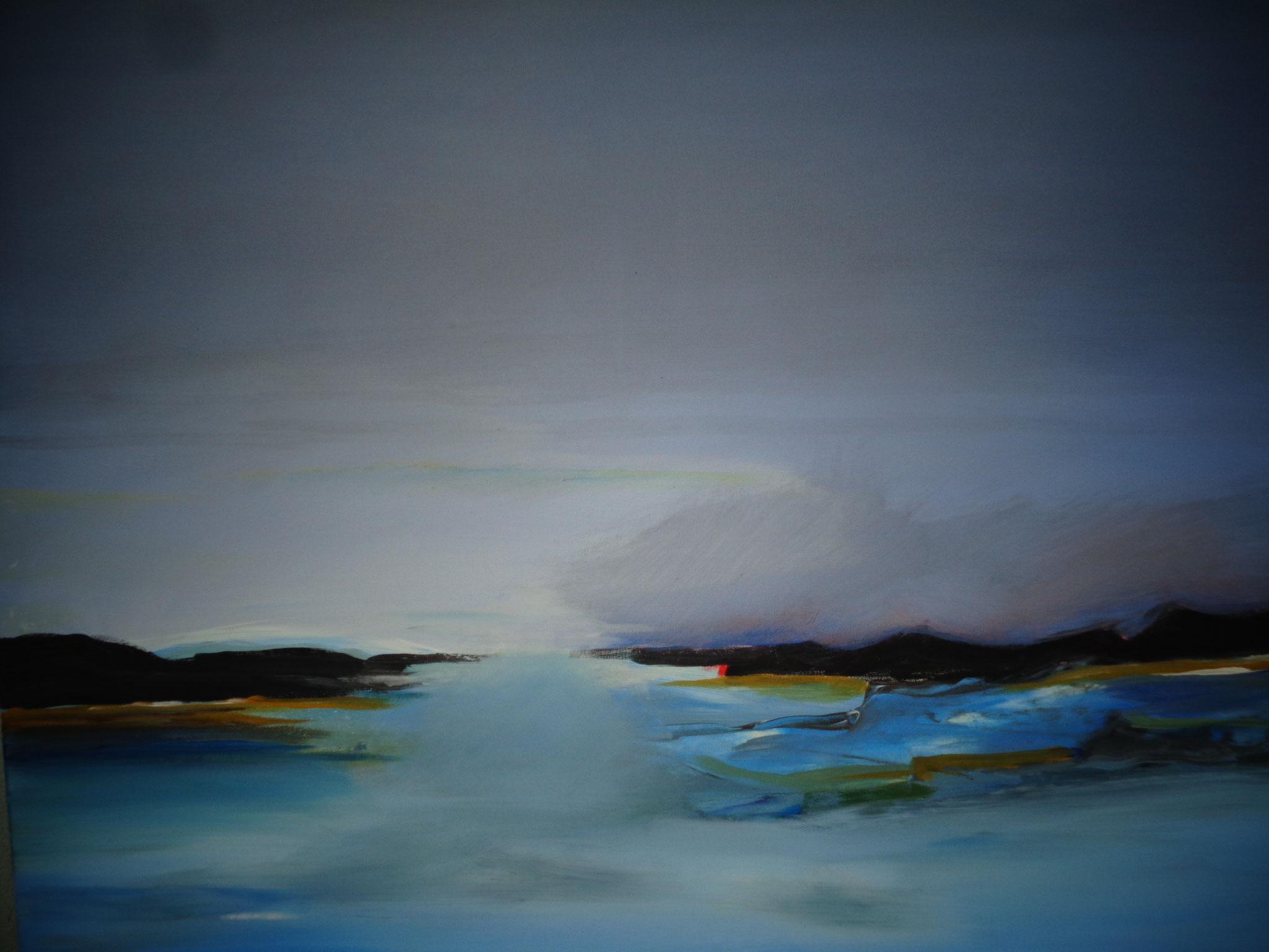 Bild 14  80 x 60 cm  Acryl auf Leinwand