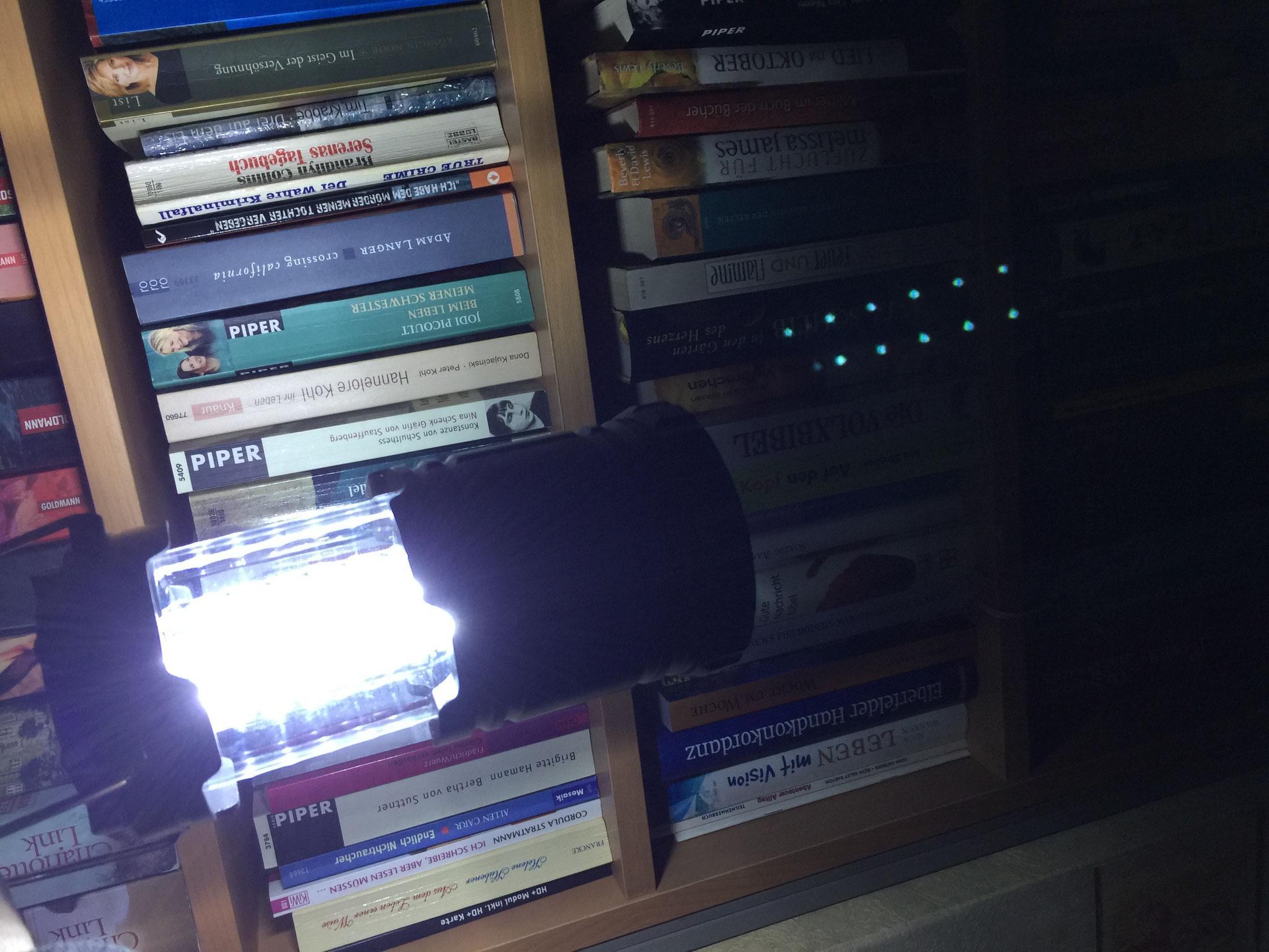 Ersetzt die Taschenlampe